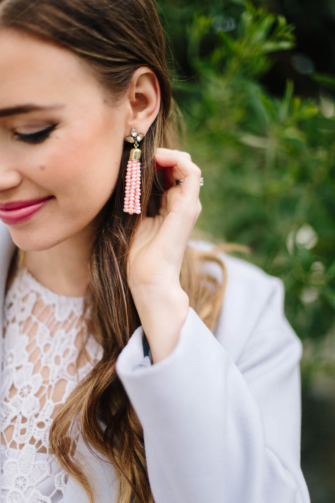 pretty tassel earrings that are affordable!