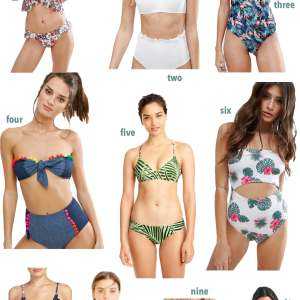 10 swimsuits under $100