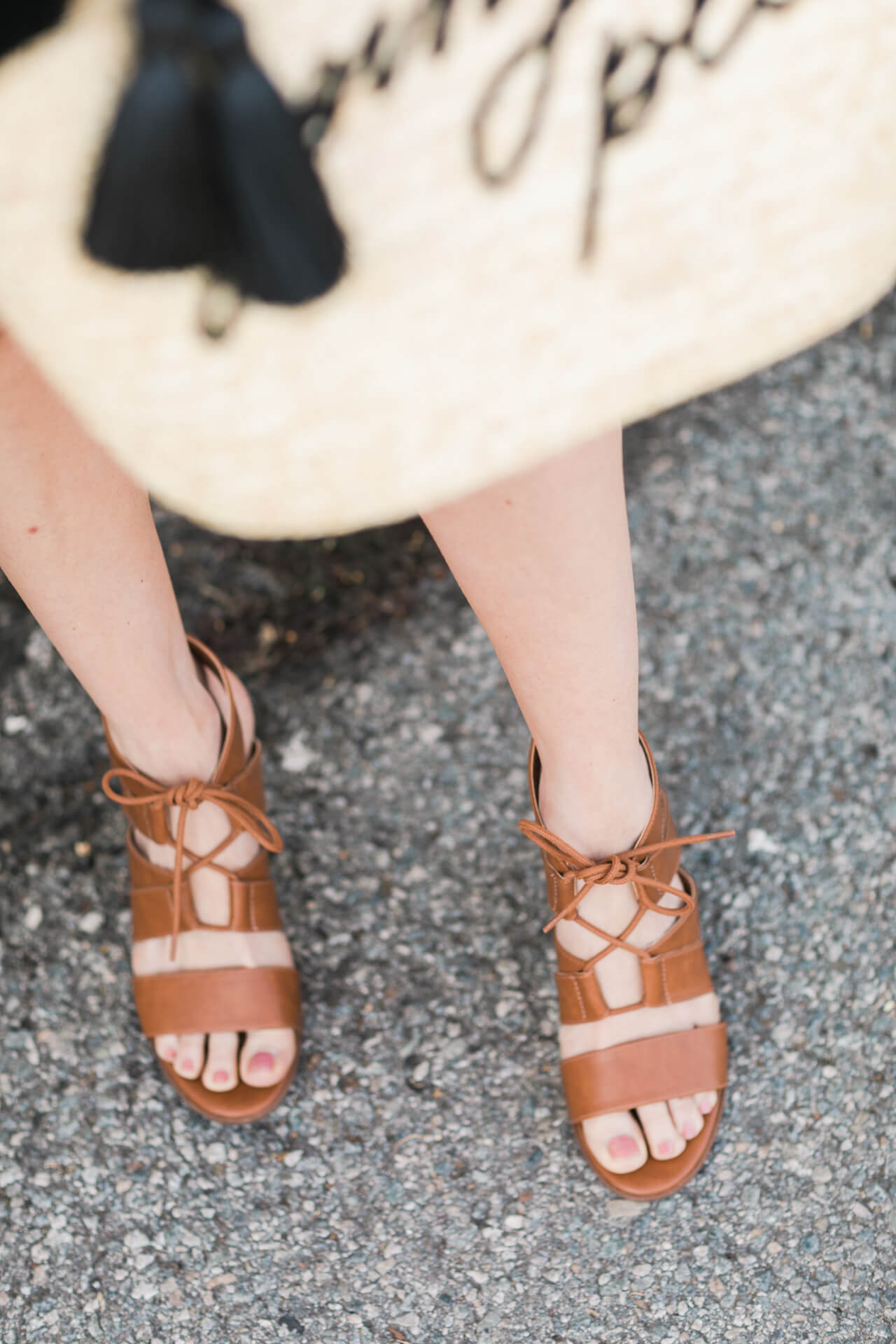 love these brown faux leather sandals - BC Footwear Valor