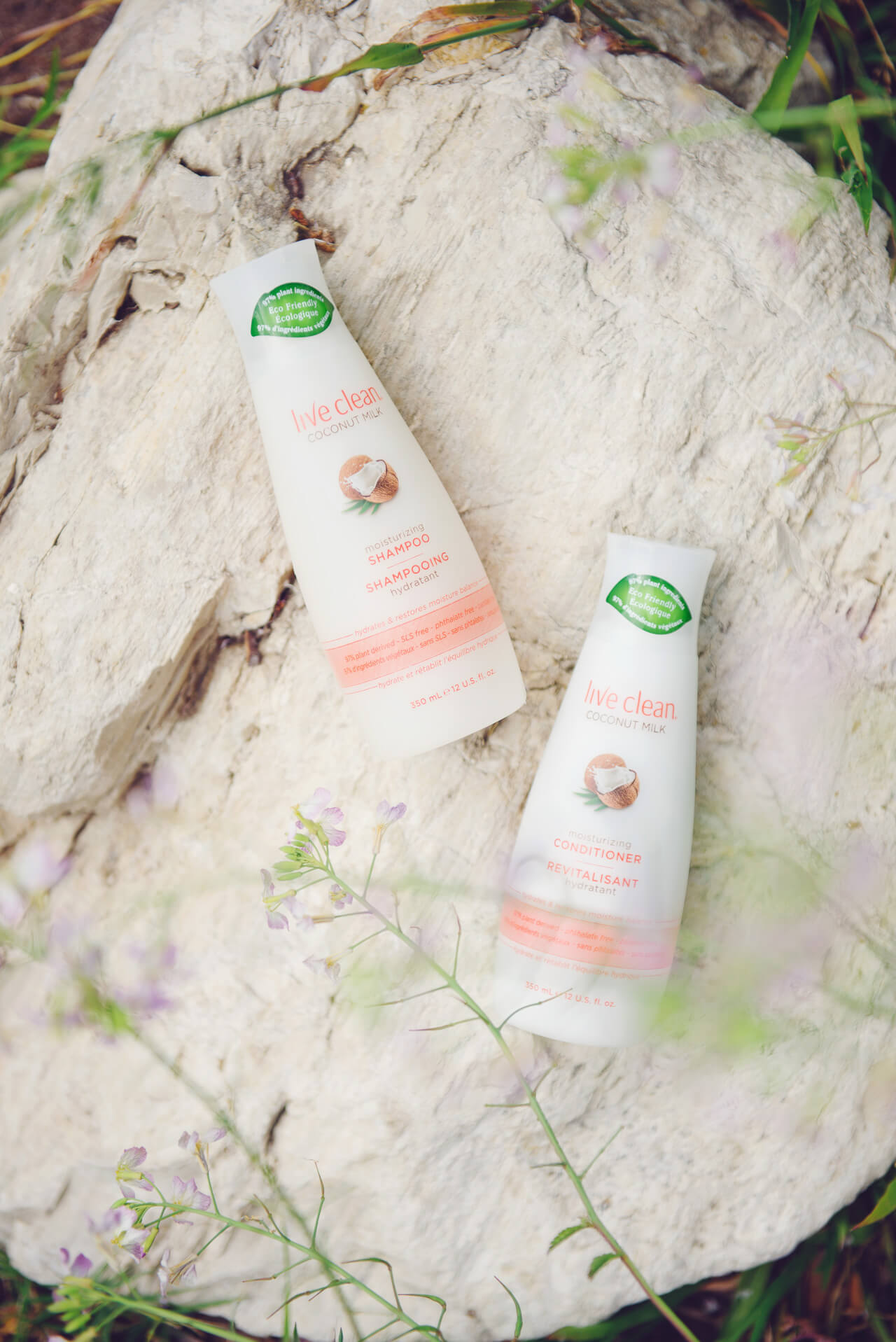 natural shampoo and conditioner to try from live clean