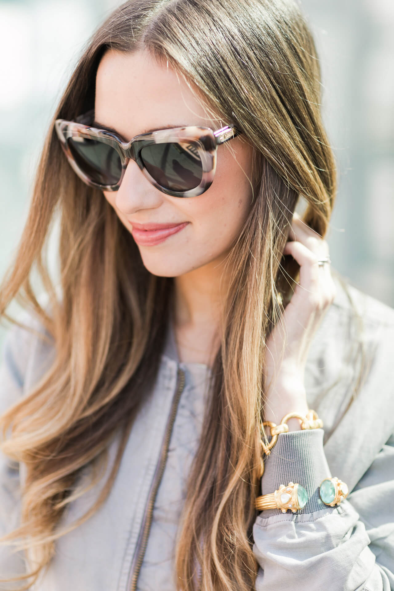 the prettiest pink tortoise sunglasses