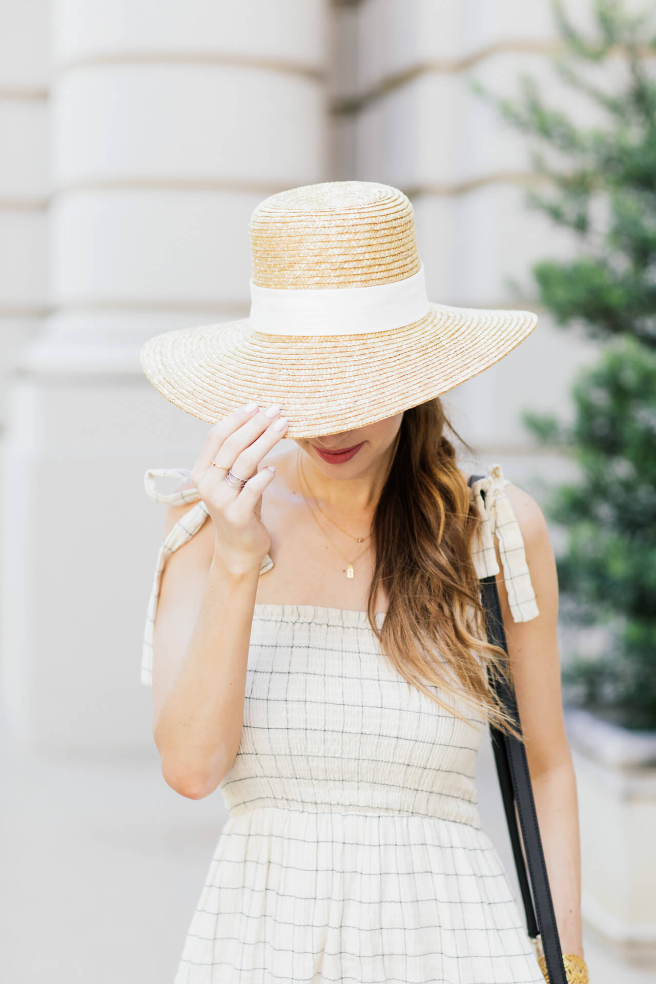 Beautiful straw hat from Jcrew