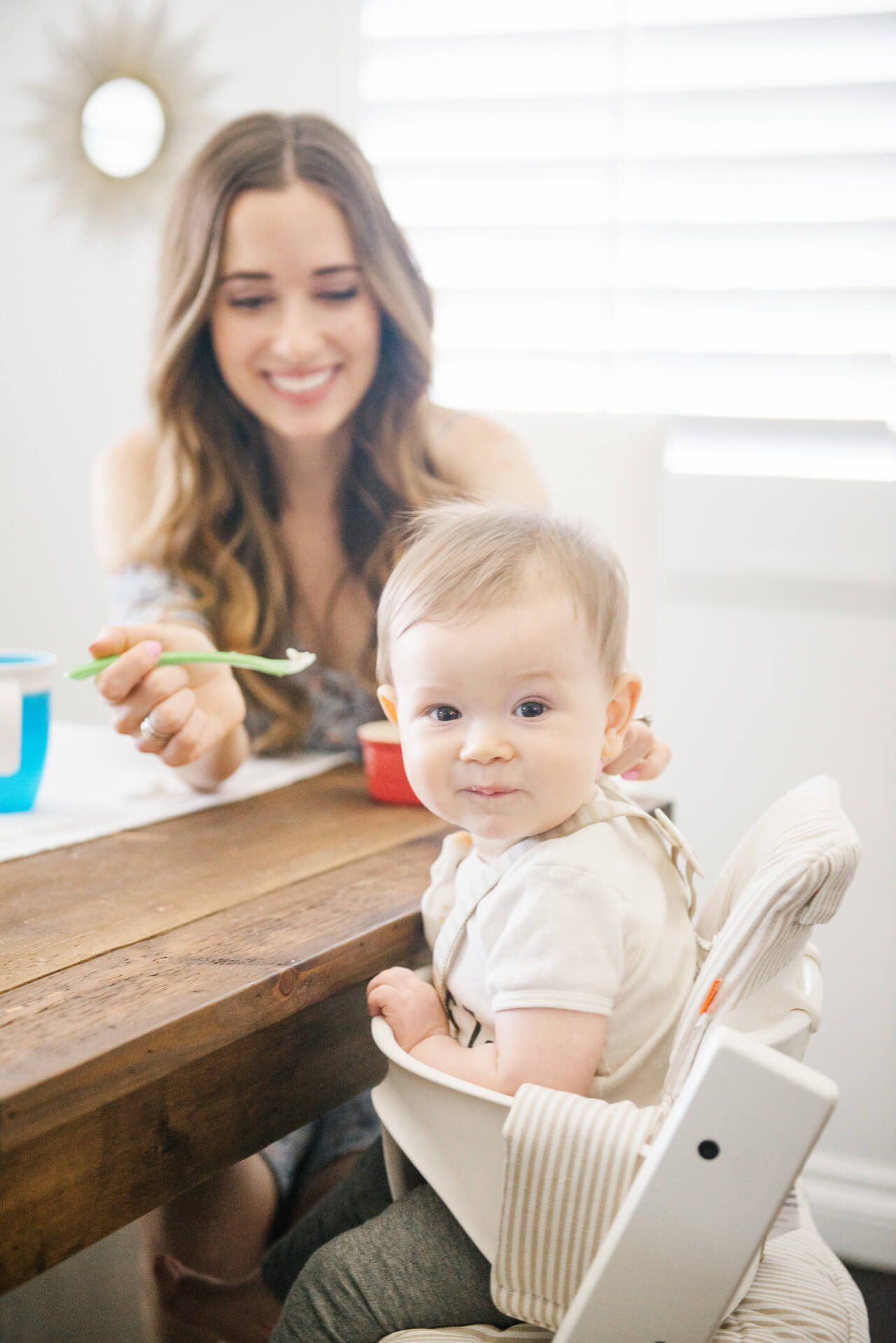 Introducing solids to my baby for the first time - M Loves M @marmar