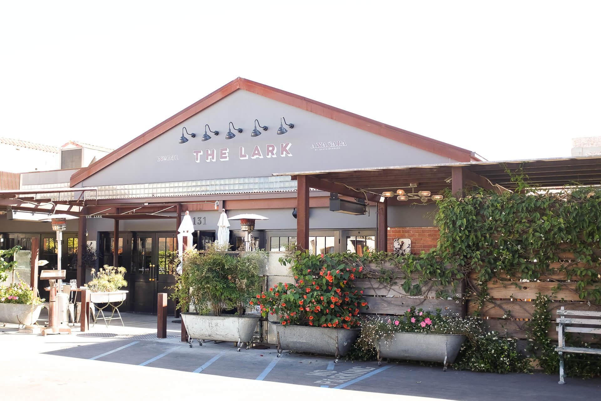 beautiful Lark restaurant in santa barbara