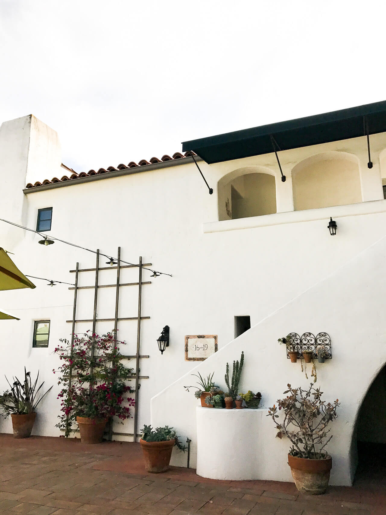 can't get enough of the beautiful spanish architecture in santa barbara - M Loves M @marmar