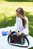 love this cute bag for a diaper bag, no one would ever guess - M Loves M @marmar