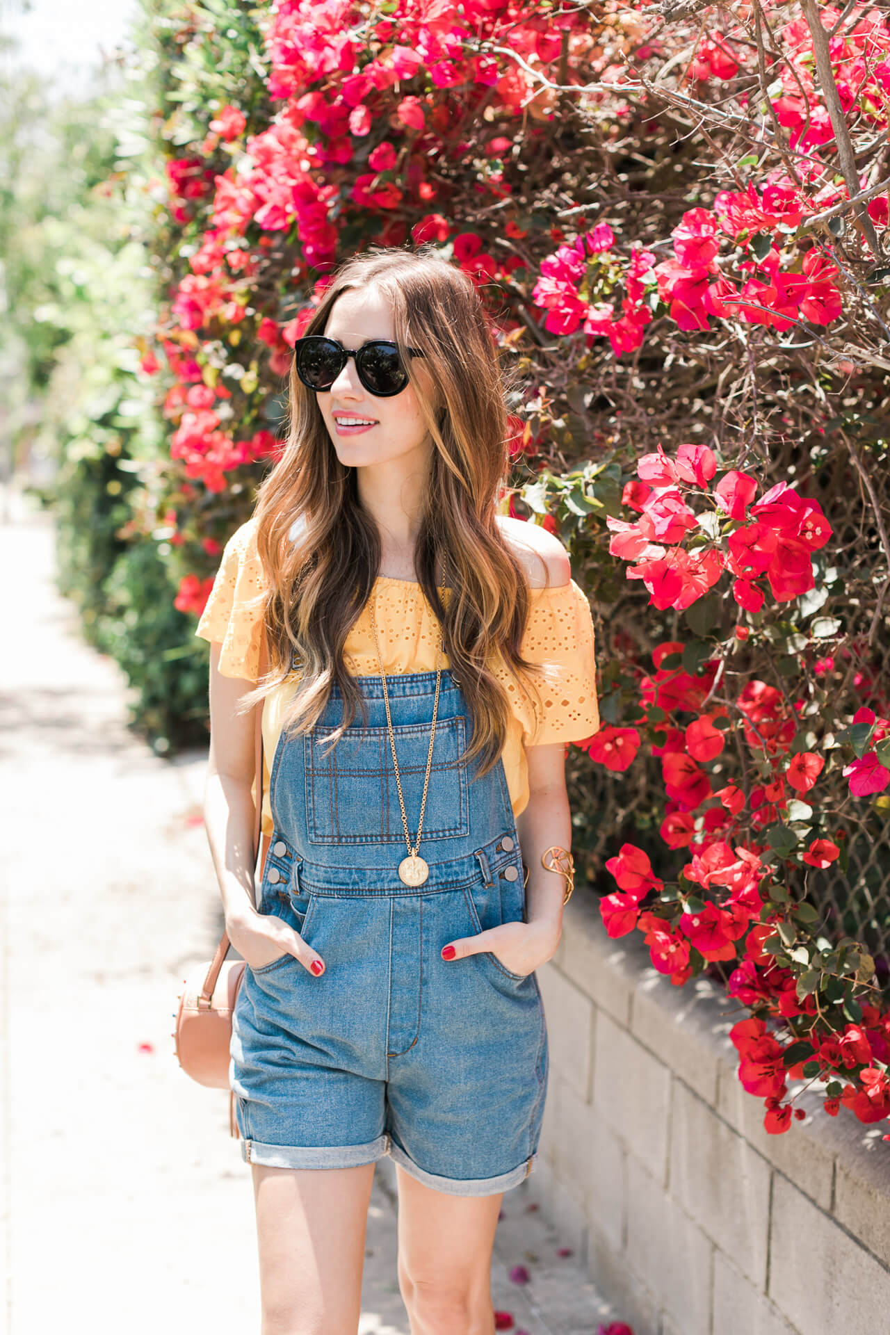 How to style overalls for summer now up on the blog - M Loves M @marmar