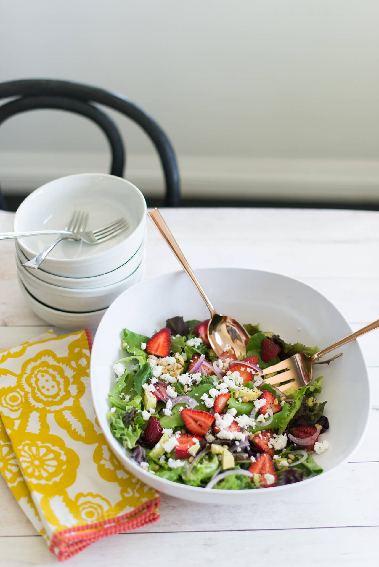 my summer salad recipe is my new favorite go-to for lunches- M Loves M @marmar