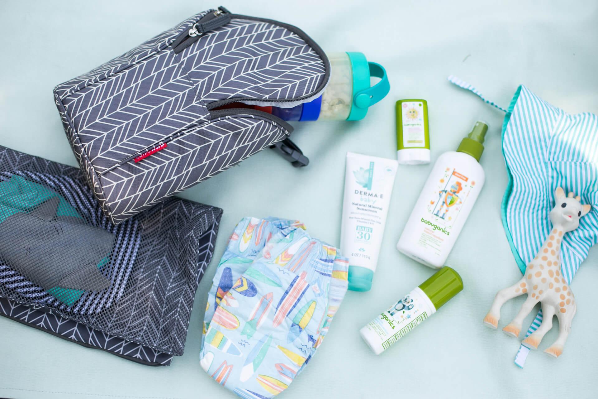 My Summer Diaper Bag Essentials | M Loves M