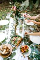 how to throw a last minute dinner party - M Loves M @marmar