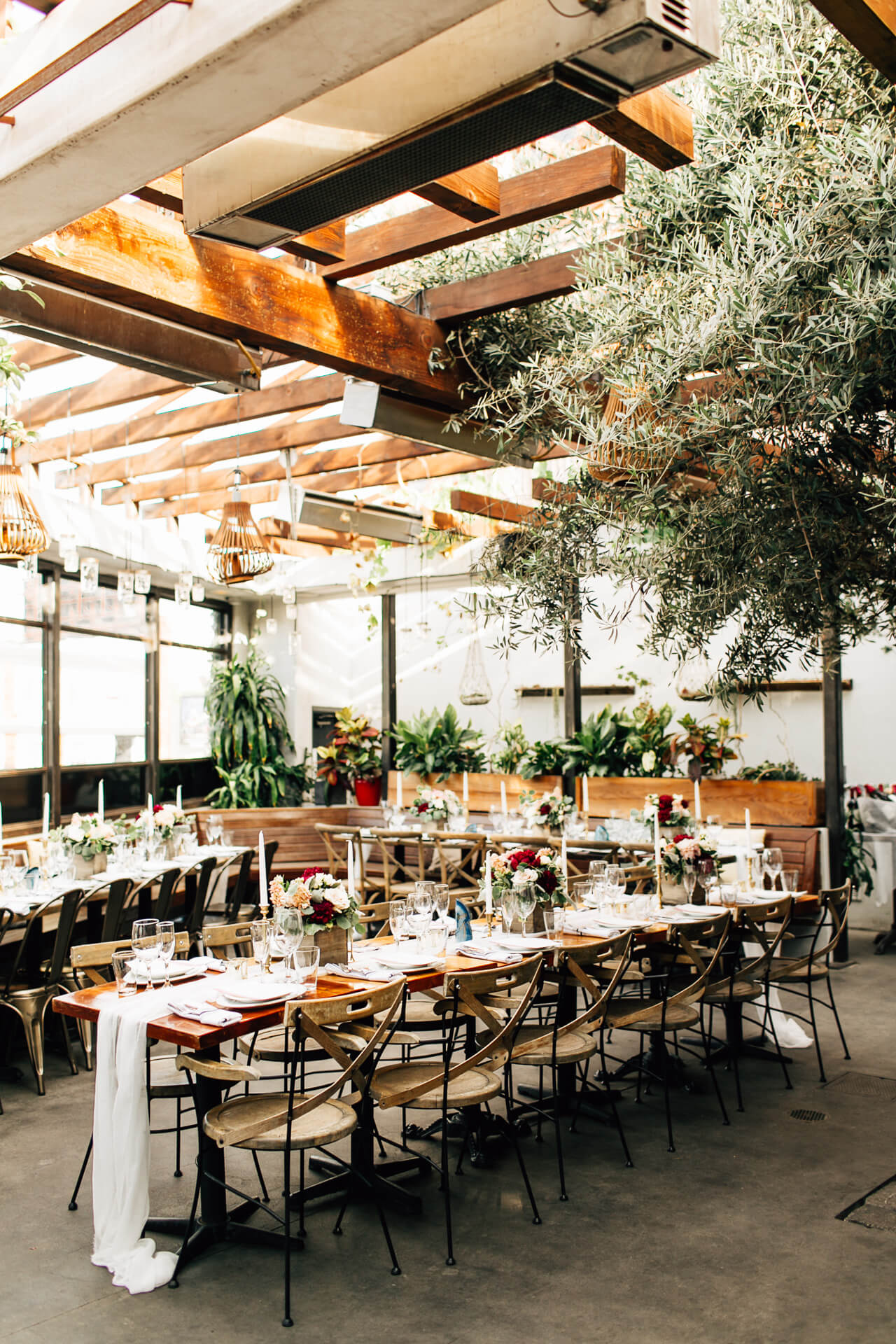 a pretty los angeles restaurant wedding venue