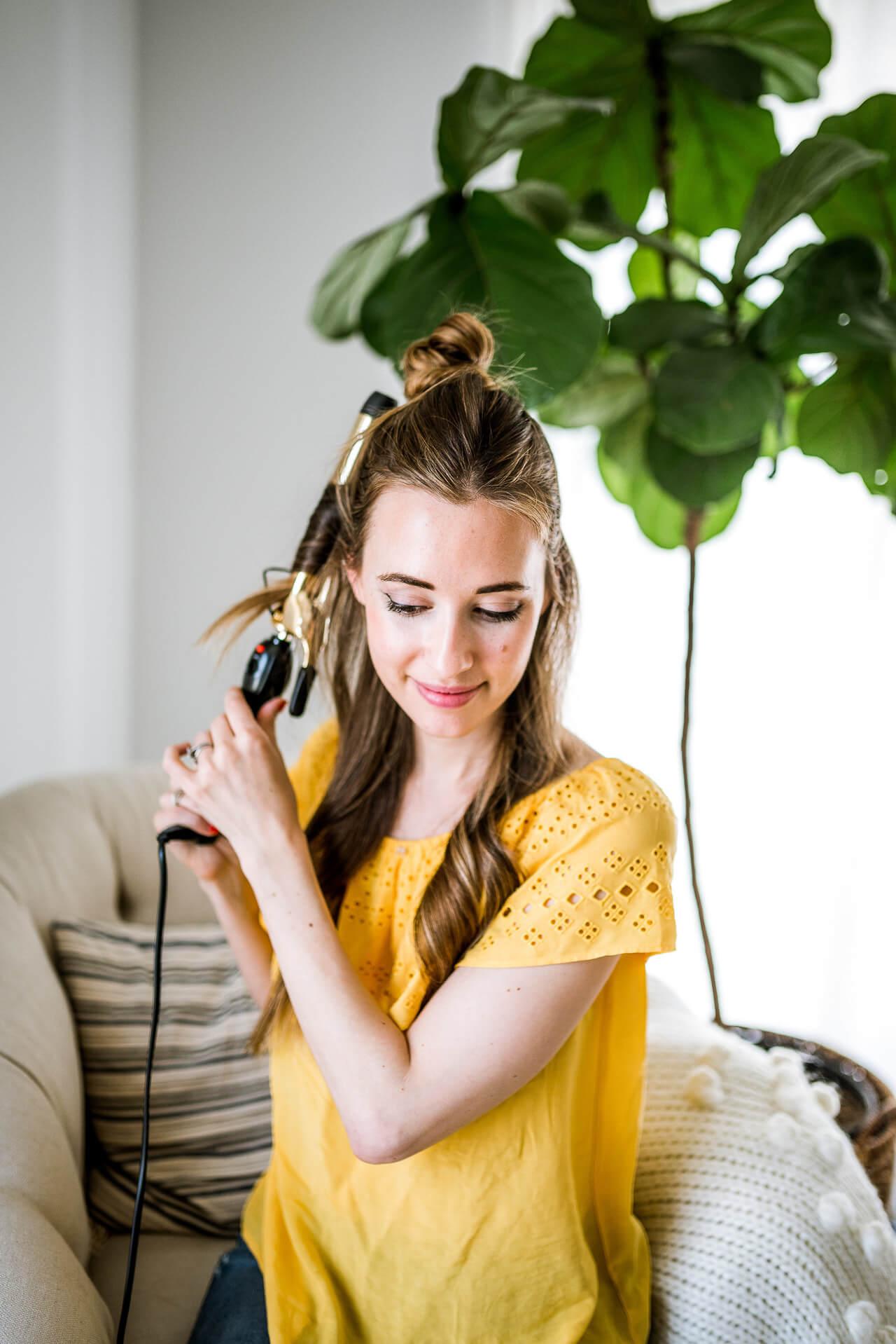 curling hair tips for medium long hair