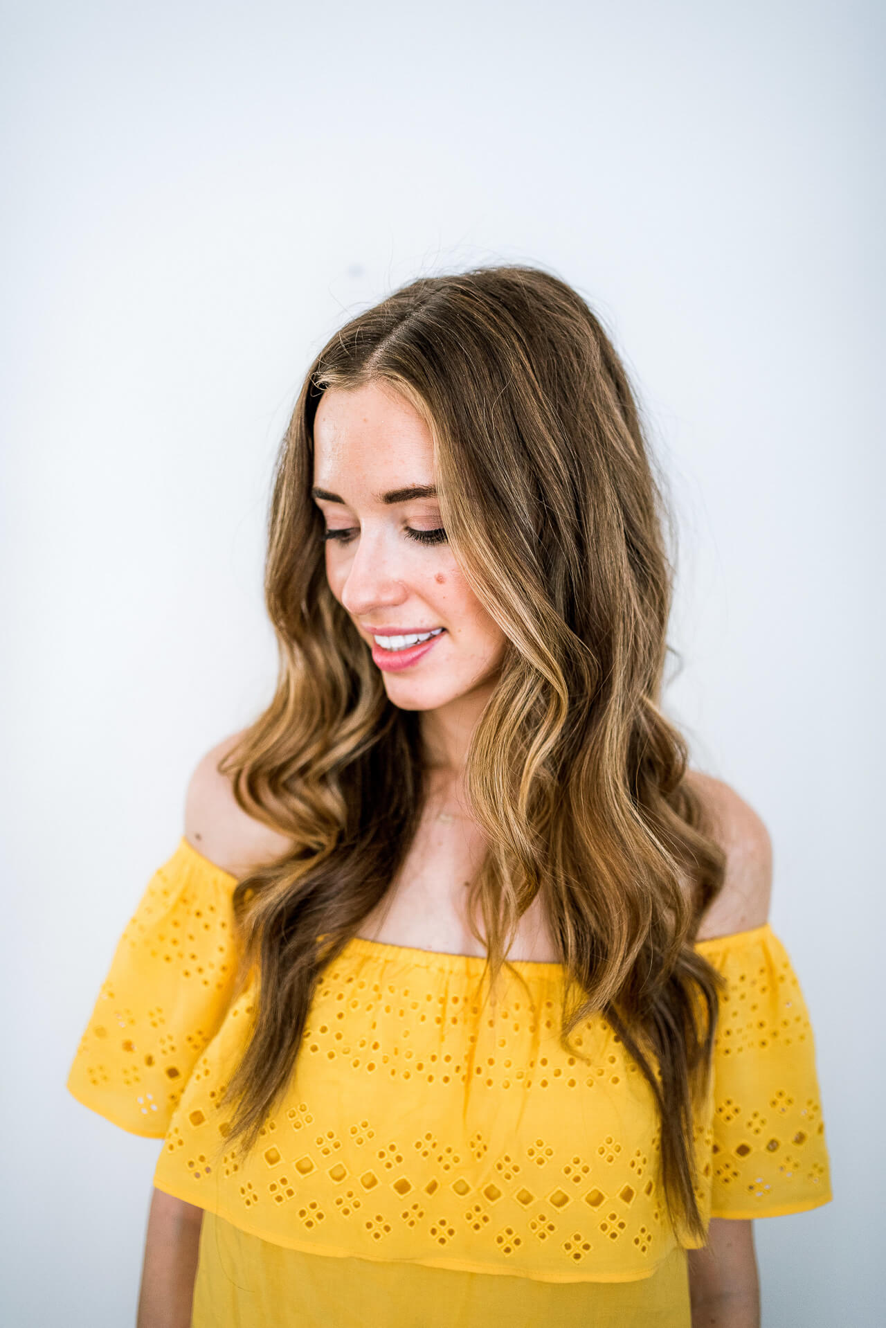 Try this tutorial by M Loves M for everyday romantic curls