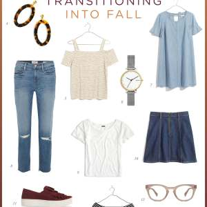 the best pieces to transition into fall with- M Loves M @marmar