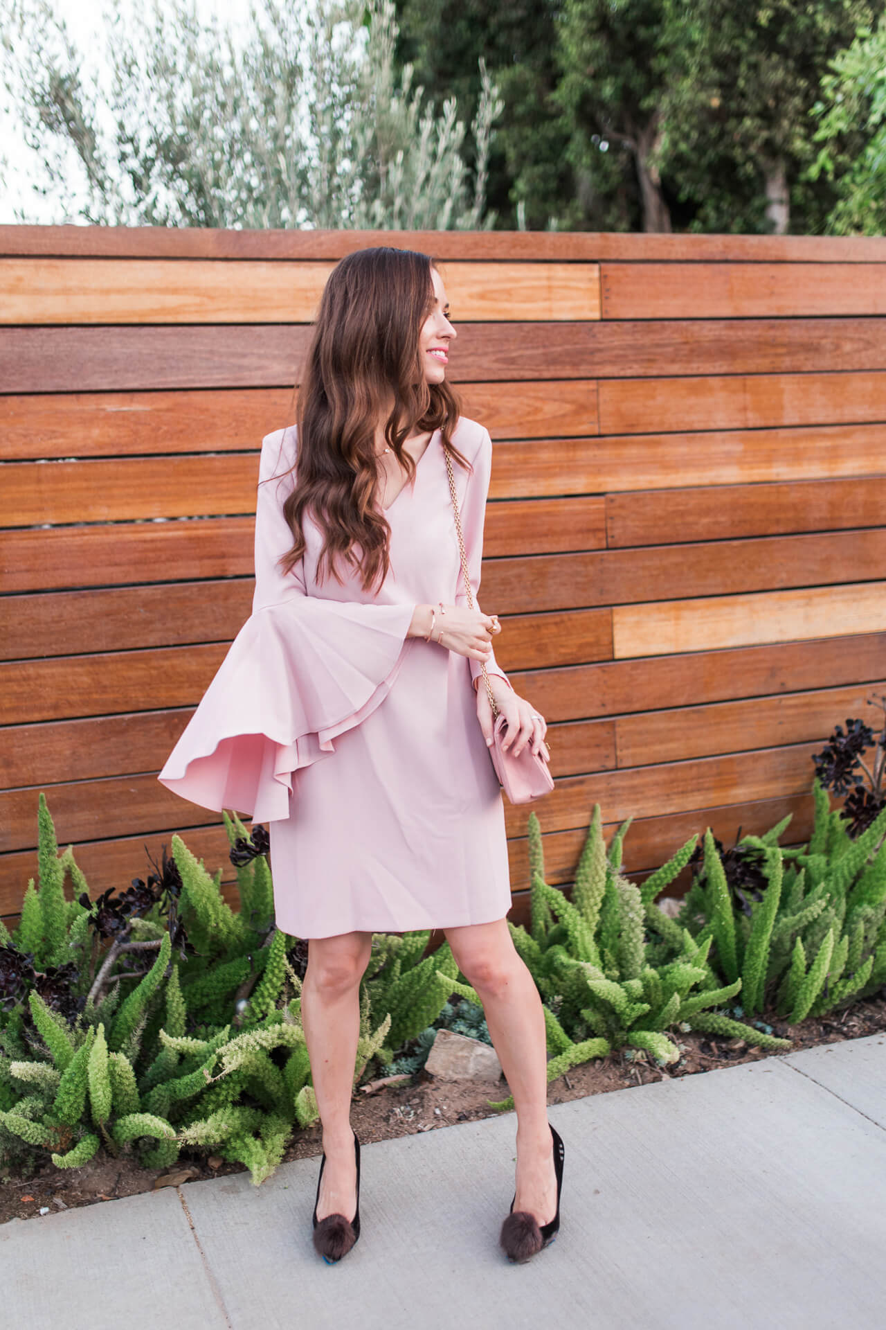 the prettiest millennial pink dress - M Loves M @marmar