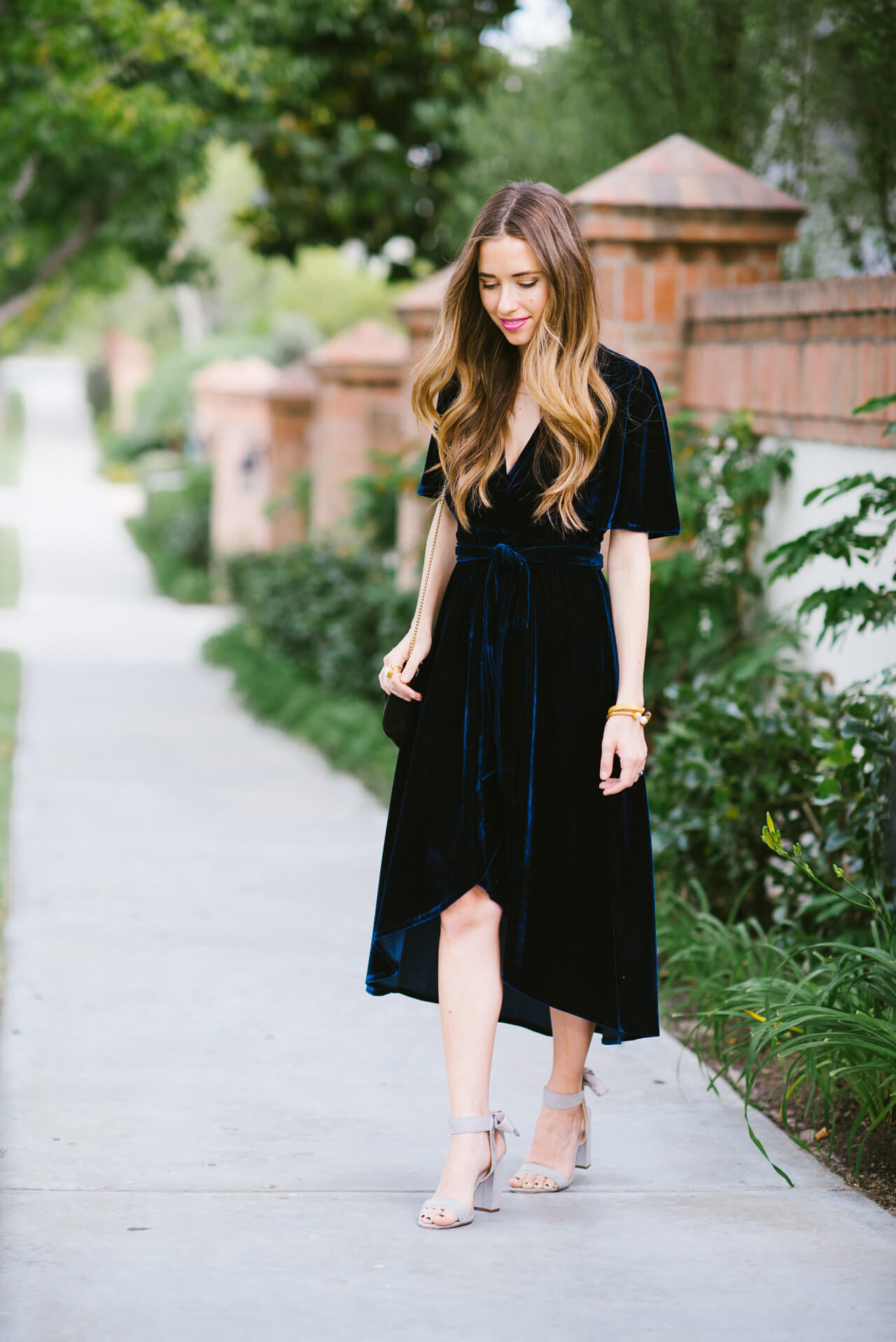 this velvet dress and a q&a is now up on the blog