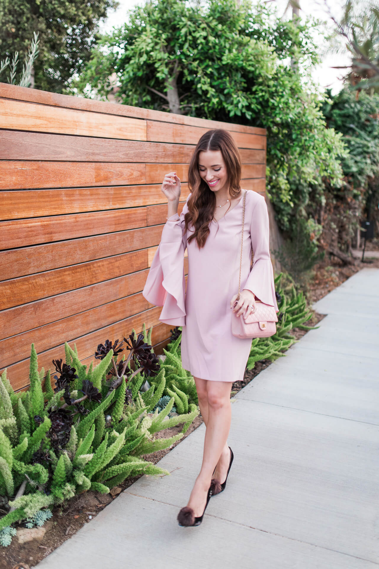 the need for change while dealing with consistency - random thoughts and a pink bell sleeve dress M Loves M @marmar