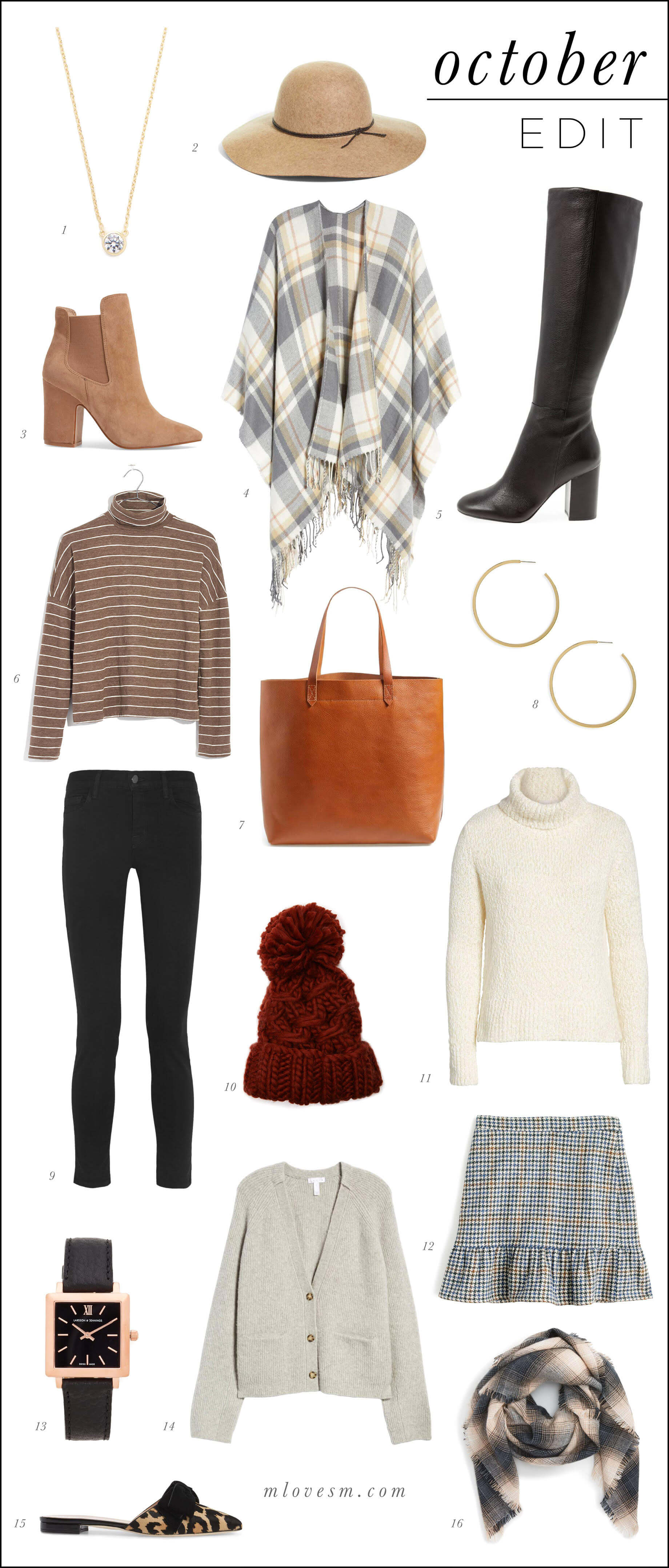 October Edit and Favorites - M Loves M @marmar