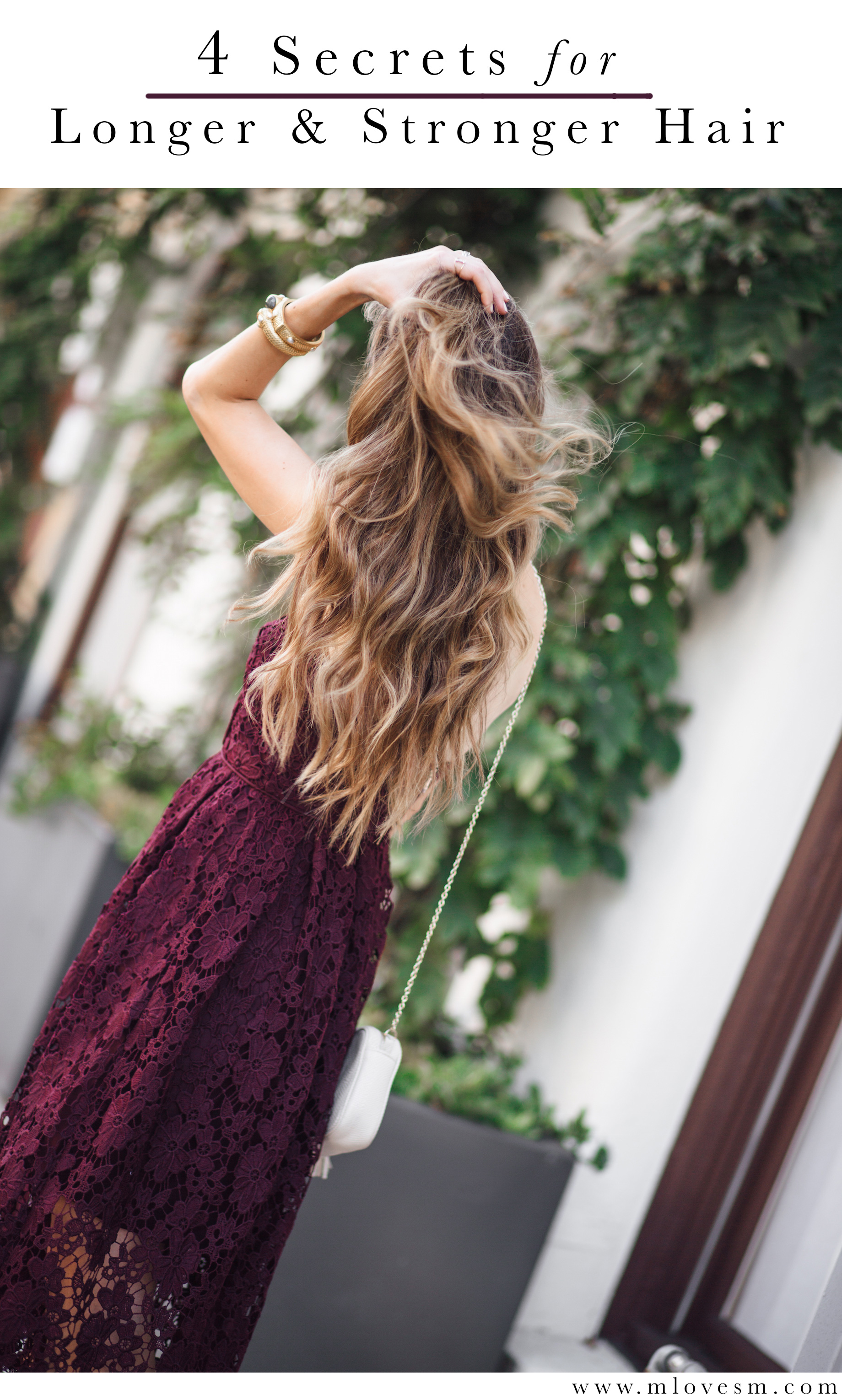 sharing my 4 secrets to get longer and stronger hair - M Loves M @marmar