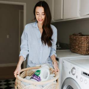 sharing my personal hacks on conquering laundry - M Loves M @marmar