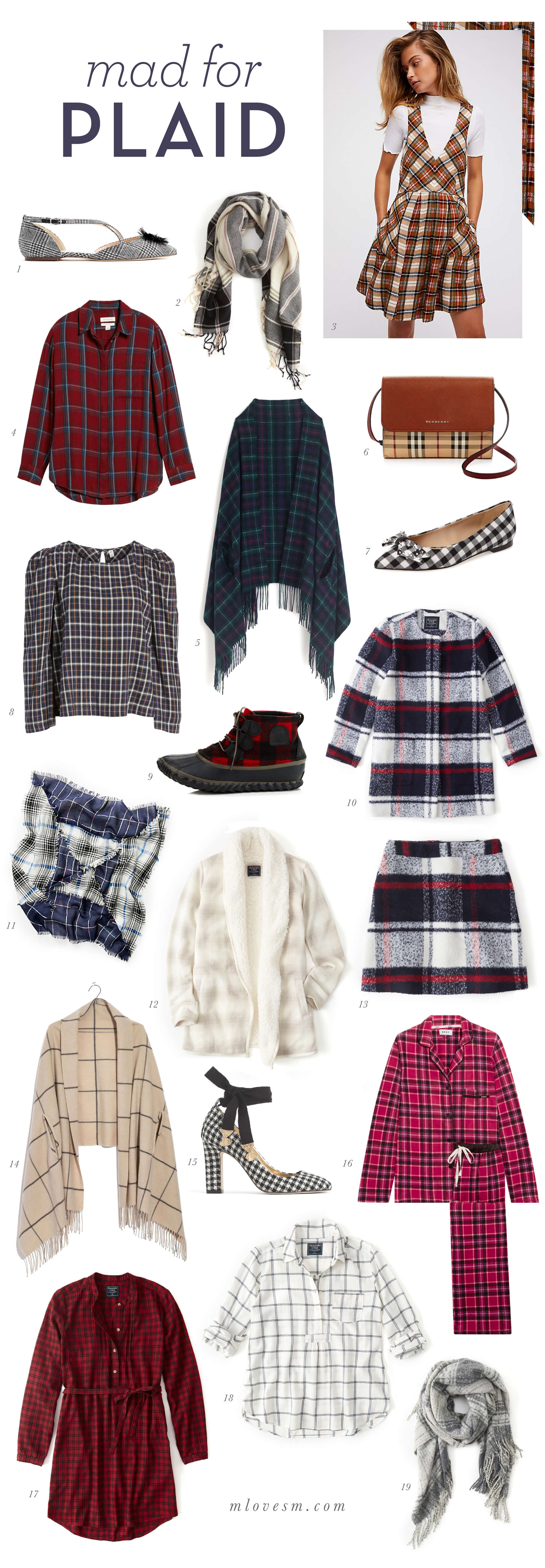 mad for plaid - plaid must-haves for fall 2017 - M Loves M @marmar
