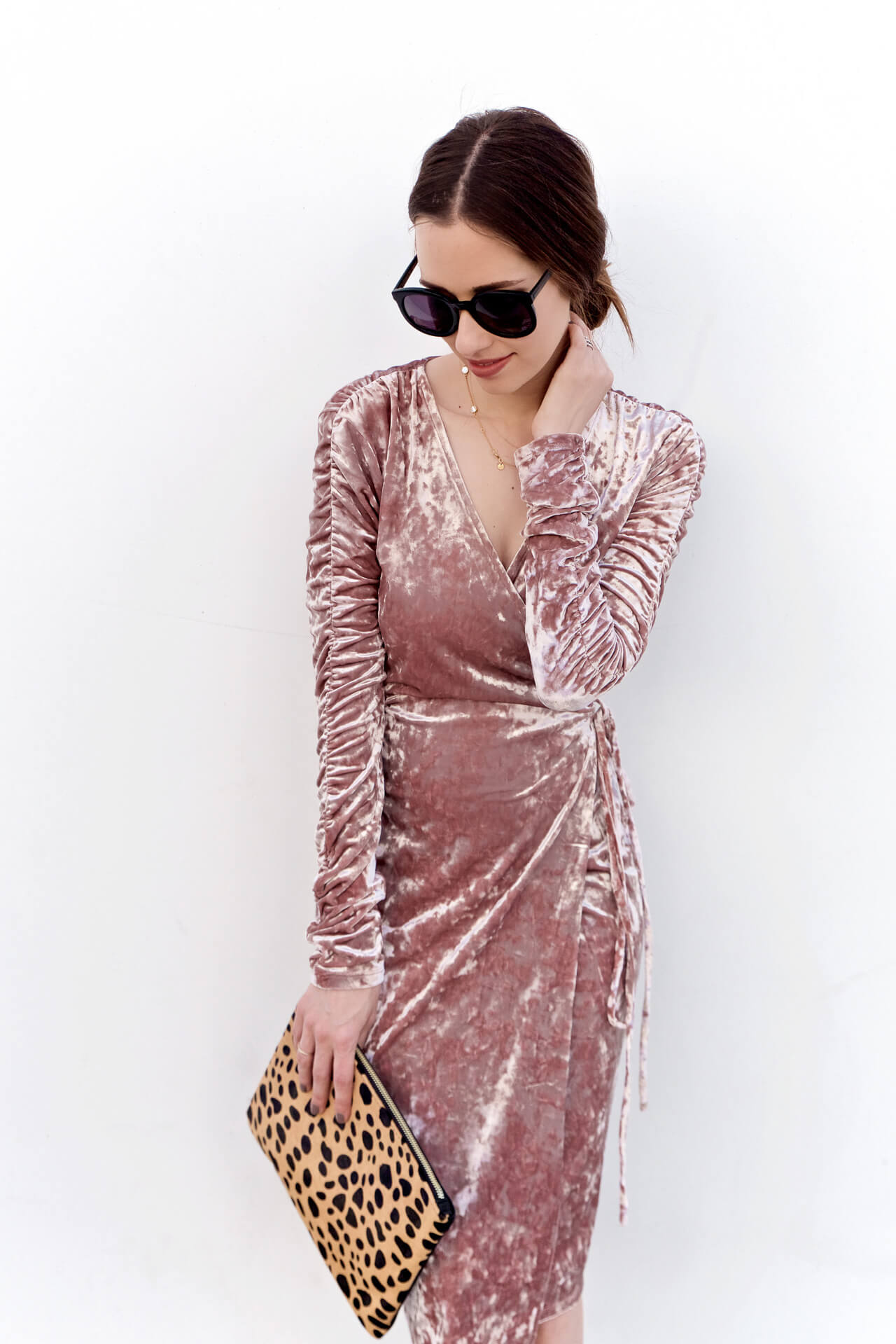 A pink dress for Fall now up on M Loves M - @marmar