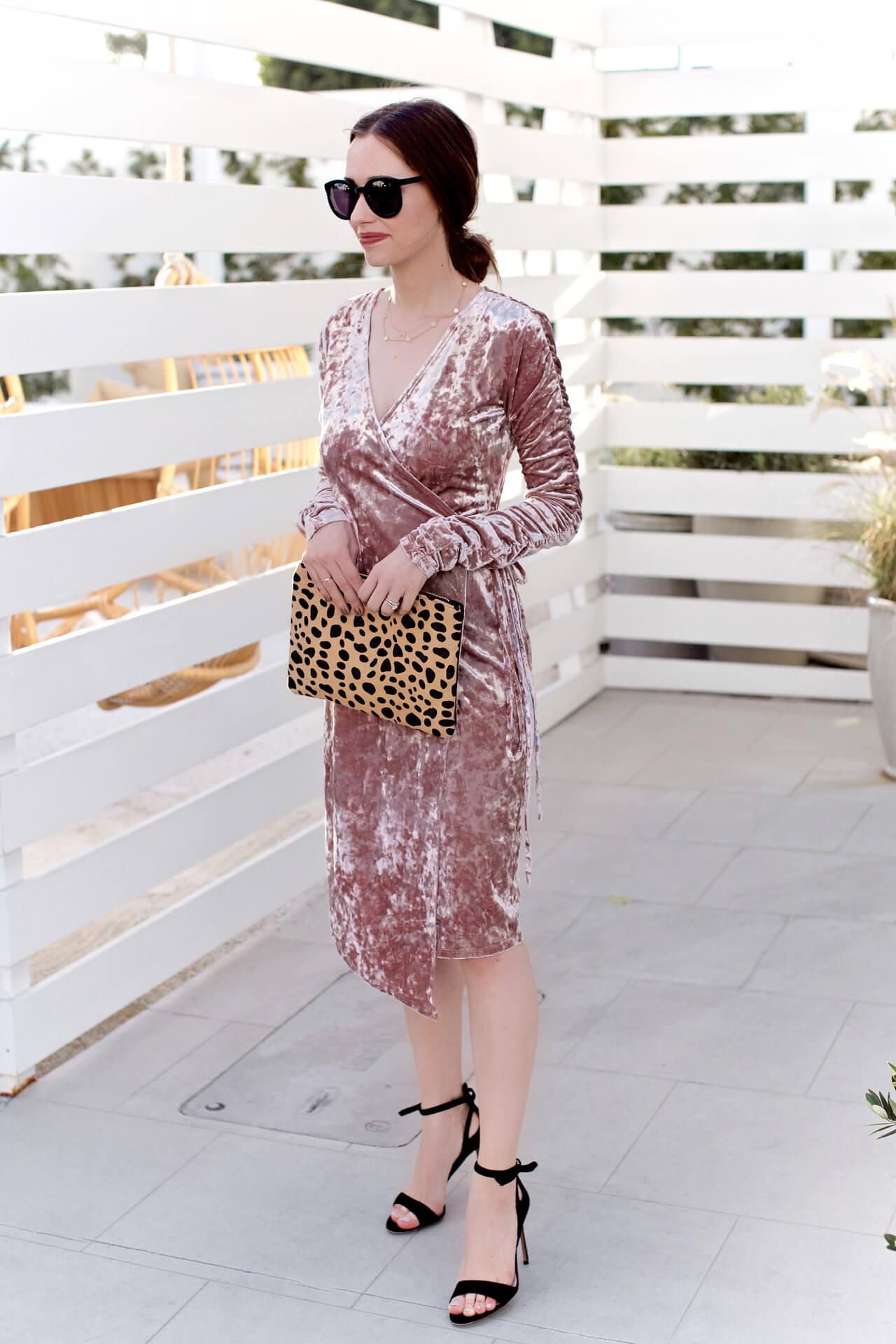 loving this leopard and velvet combination - M Loves M @marmar