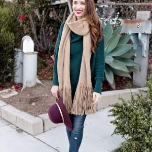 The Scarf Everyone's Wearing for Fall - M Loves M @marmar