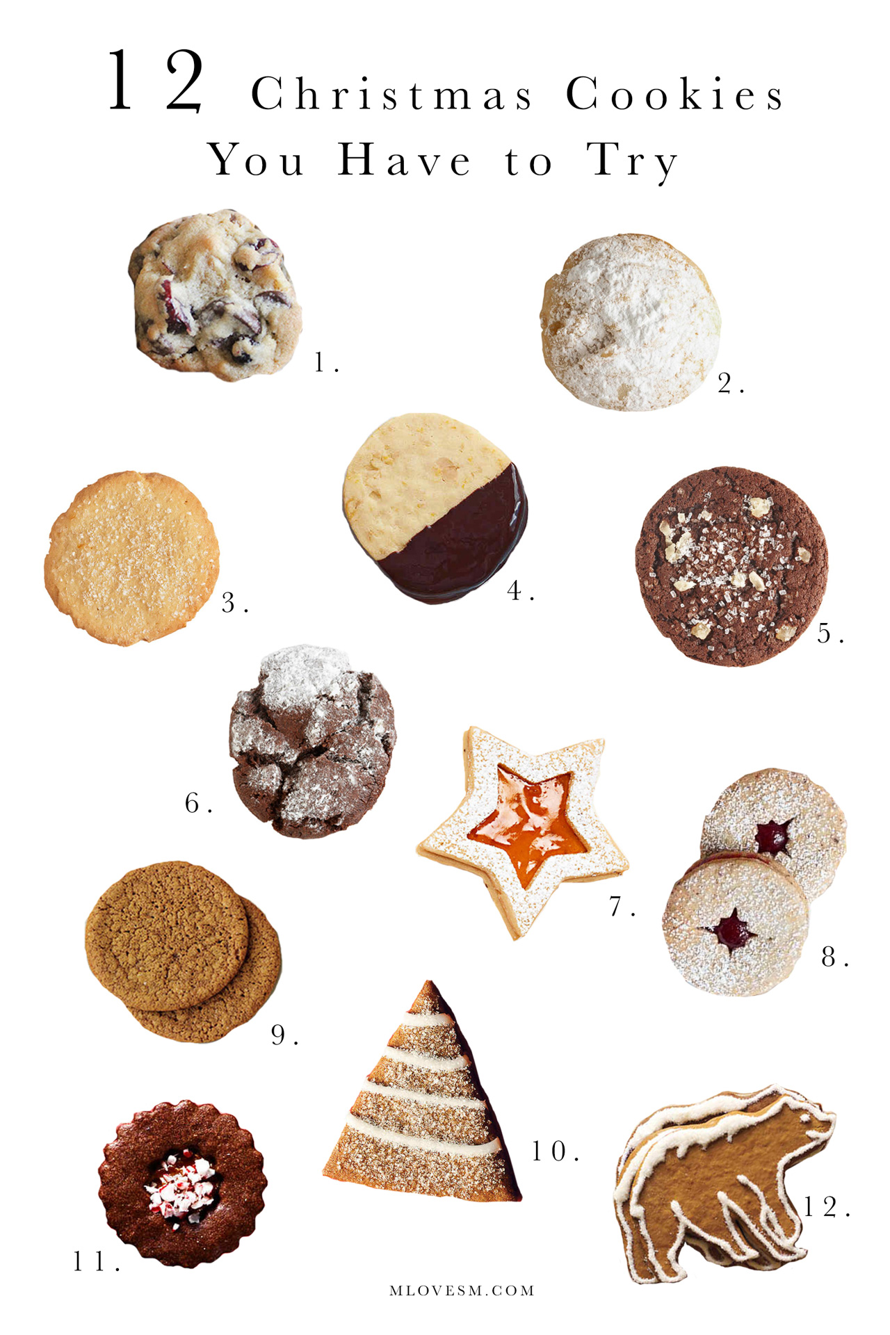12 Christmas Cookies You Have to Try | M Loves M