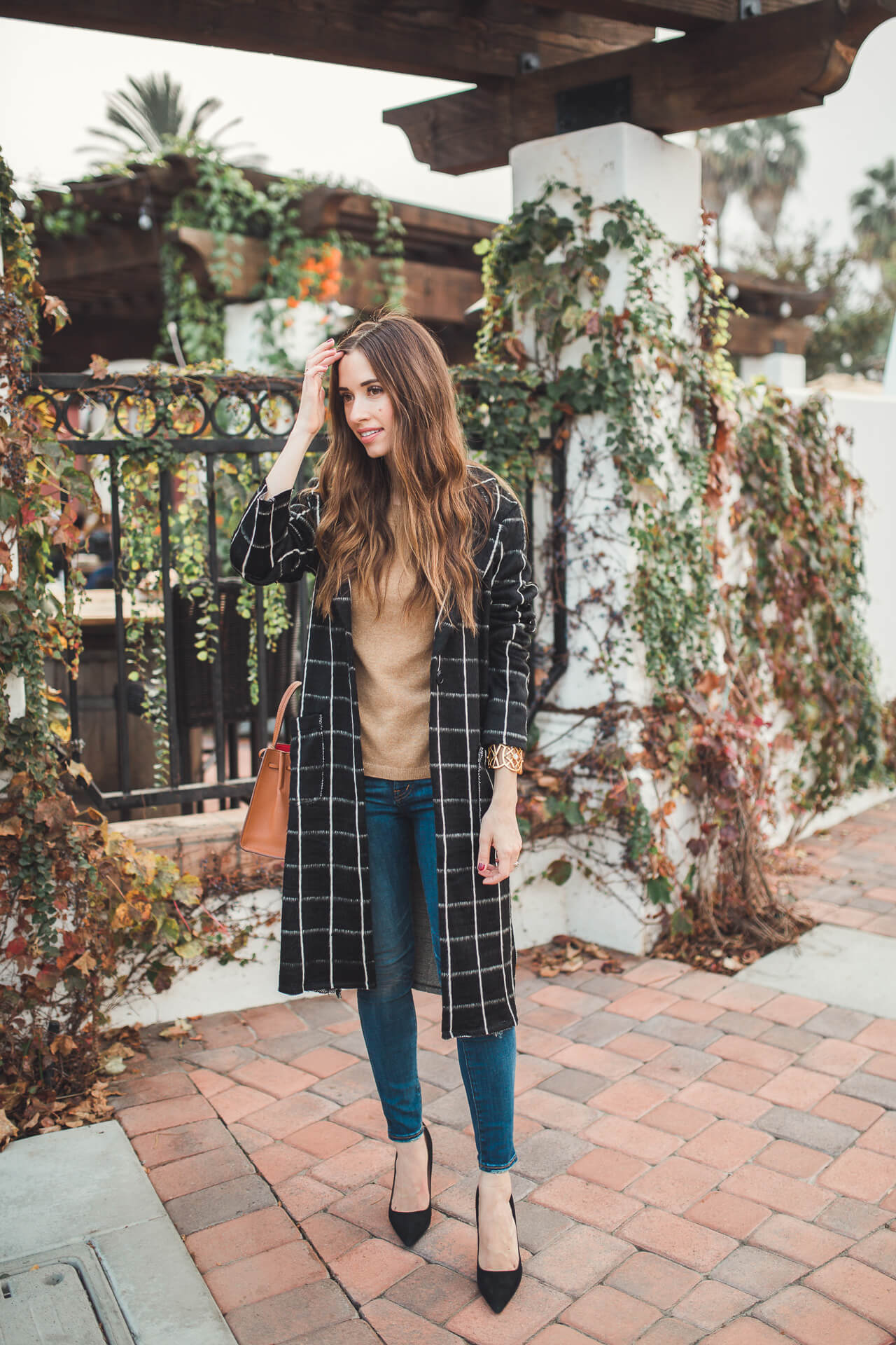 dressing up a casual sweater and jeans outfit - M Loves M @marmar