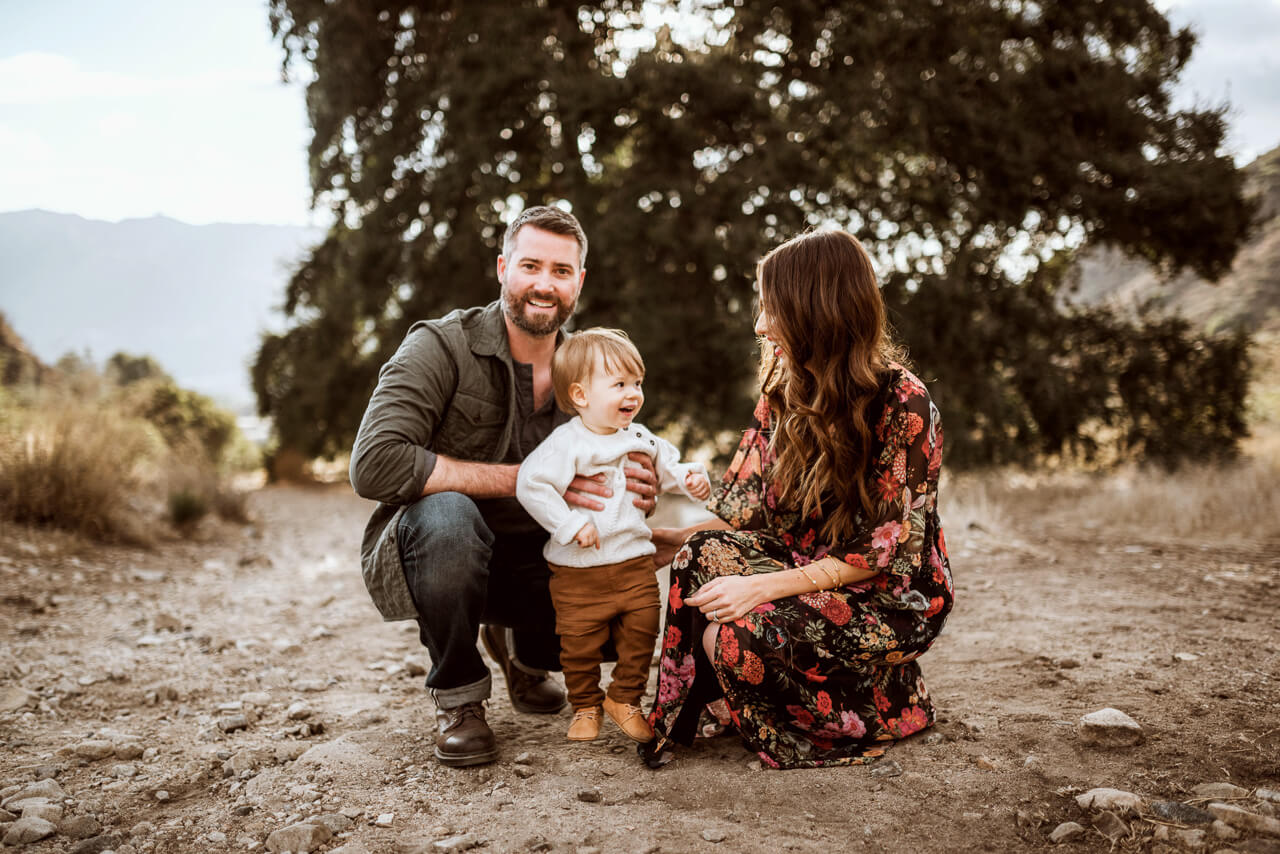 family photos with a one year old boy
