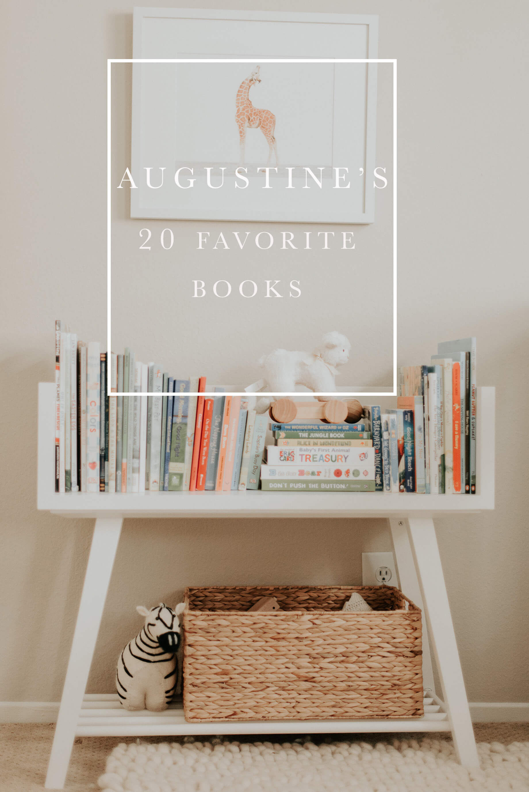 Augustine's 20 Favorite Books - M Loves M @marmar