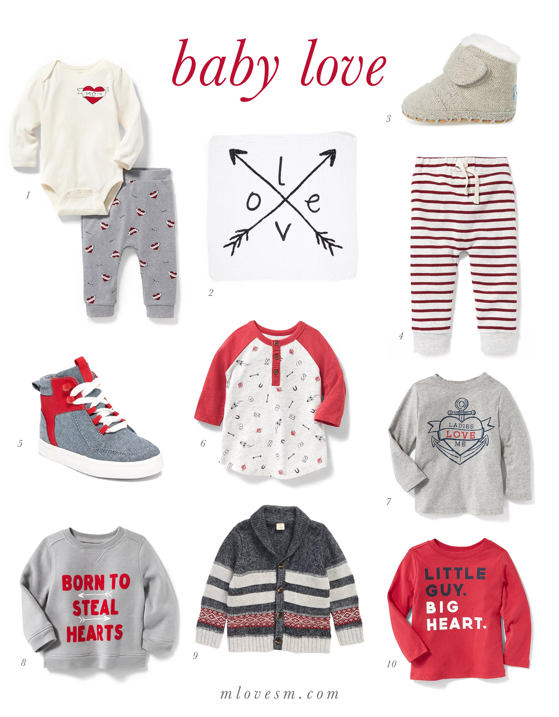 Baby Valentine's Day Favorites - M Loves M @marmar