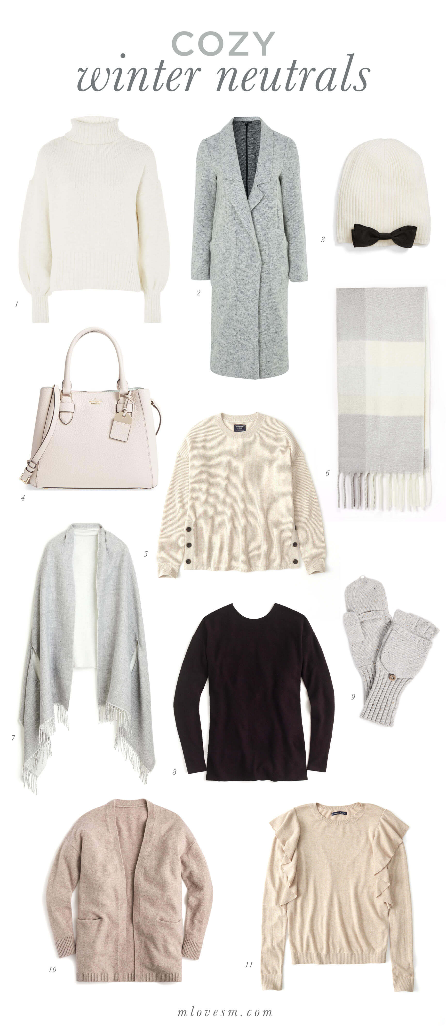 Cozy Winter Neutrals - M Loves M @marmar