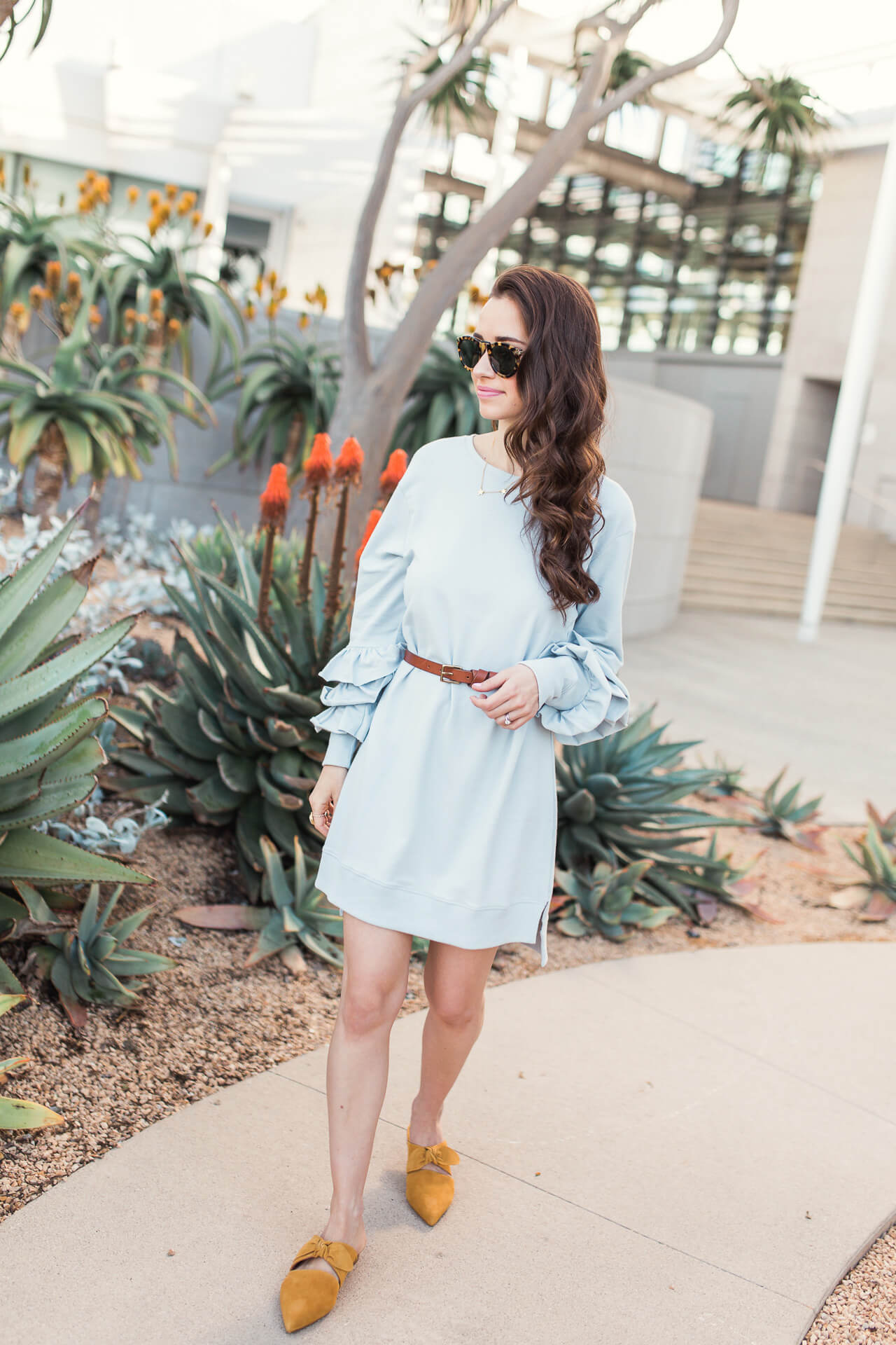 How to Style a Sweatshirt Dress - M Loves M @marmar