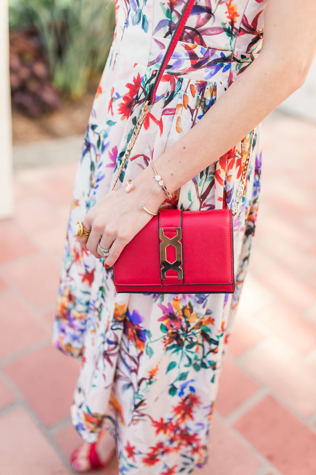 the cutest small red bag that is so affordable!