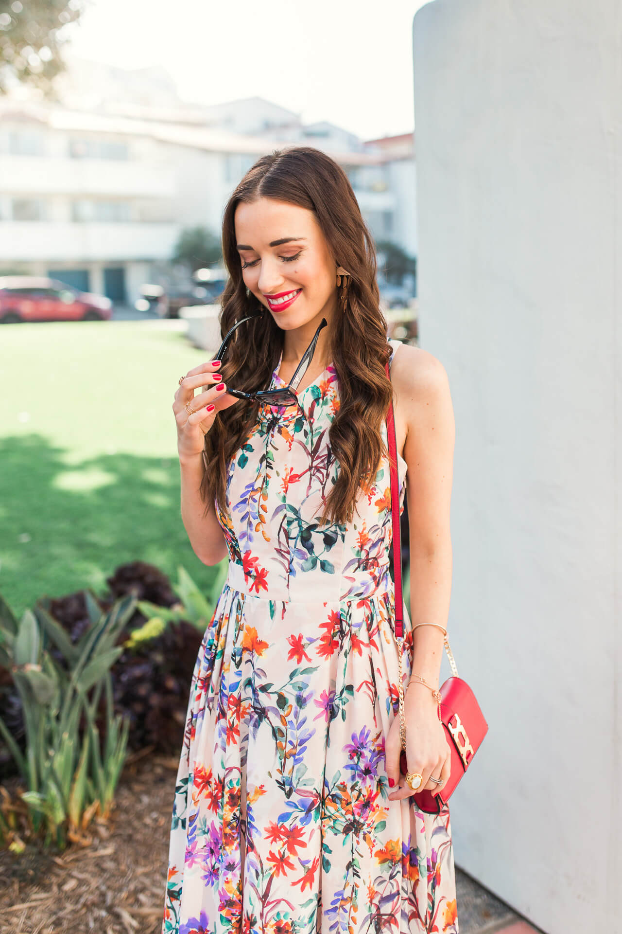 classic and feminine outfit idea for spring - M Loves M @marmar