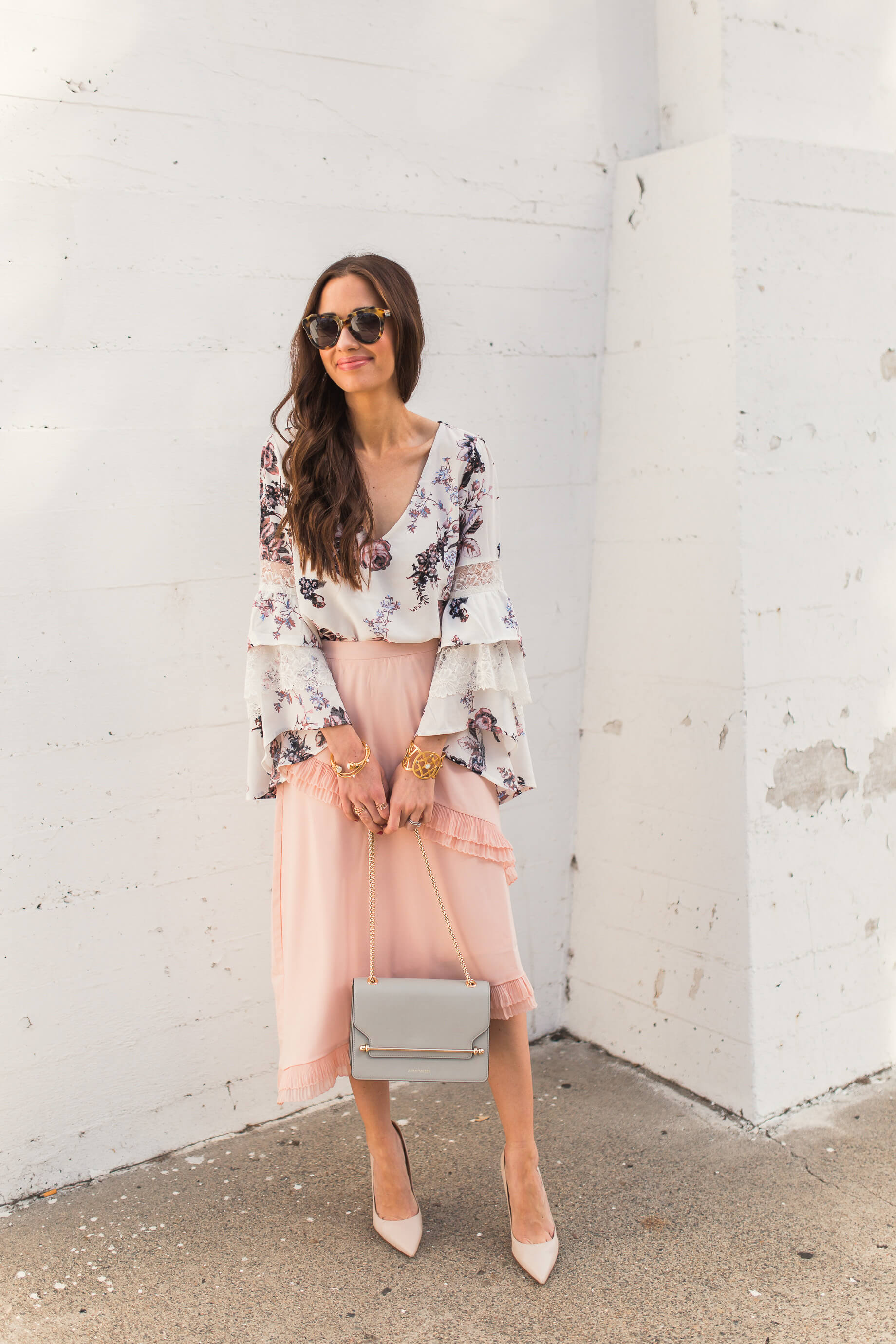 styling a ruffled skirt for spring - M Loves M OC Fashion and Lifestyle Blogger @marmar