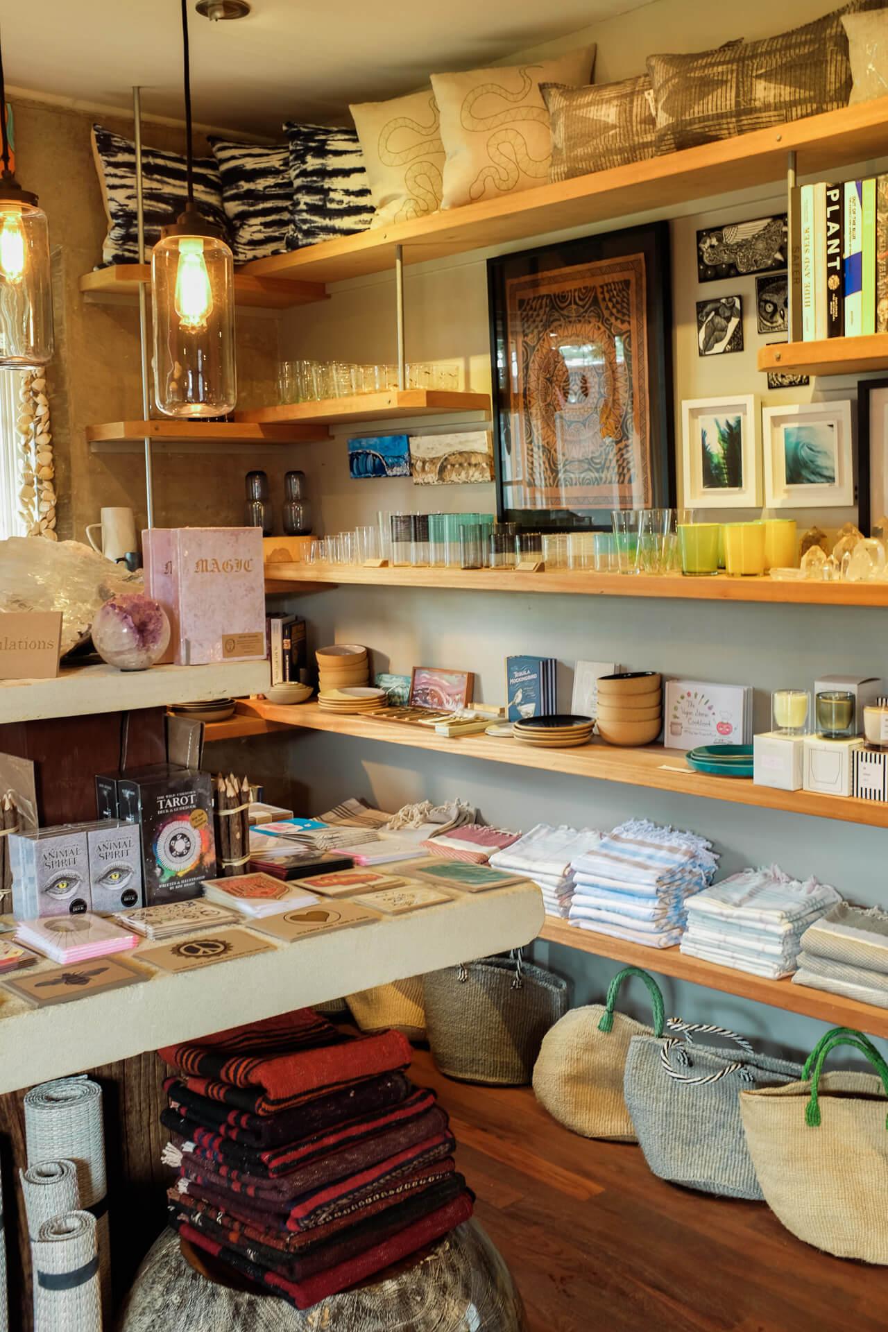 cute boutique on kauai - hunterer gatherer