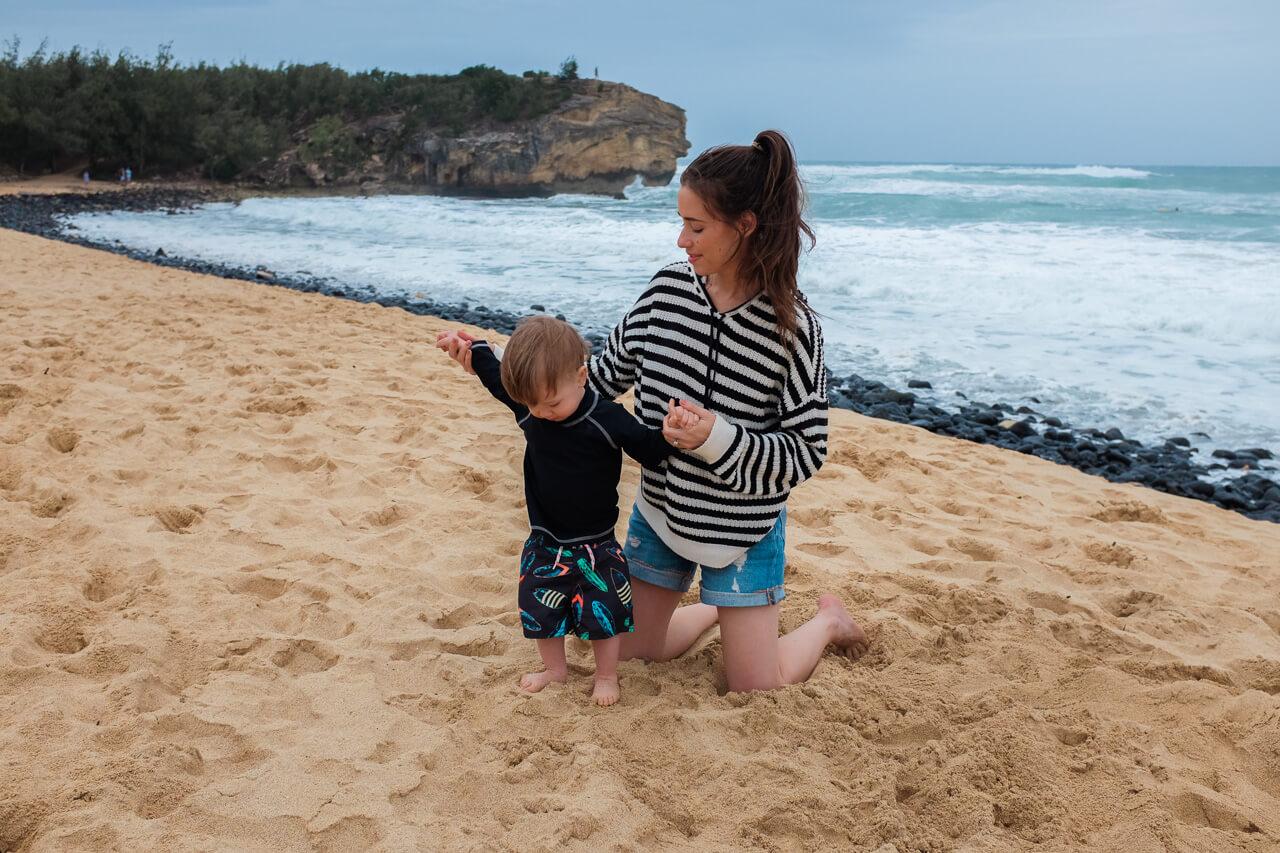 Mara and Augustine on Kauai