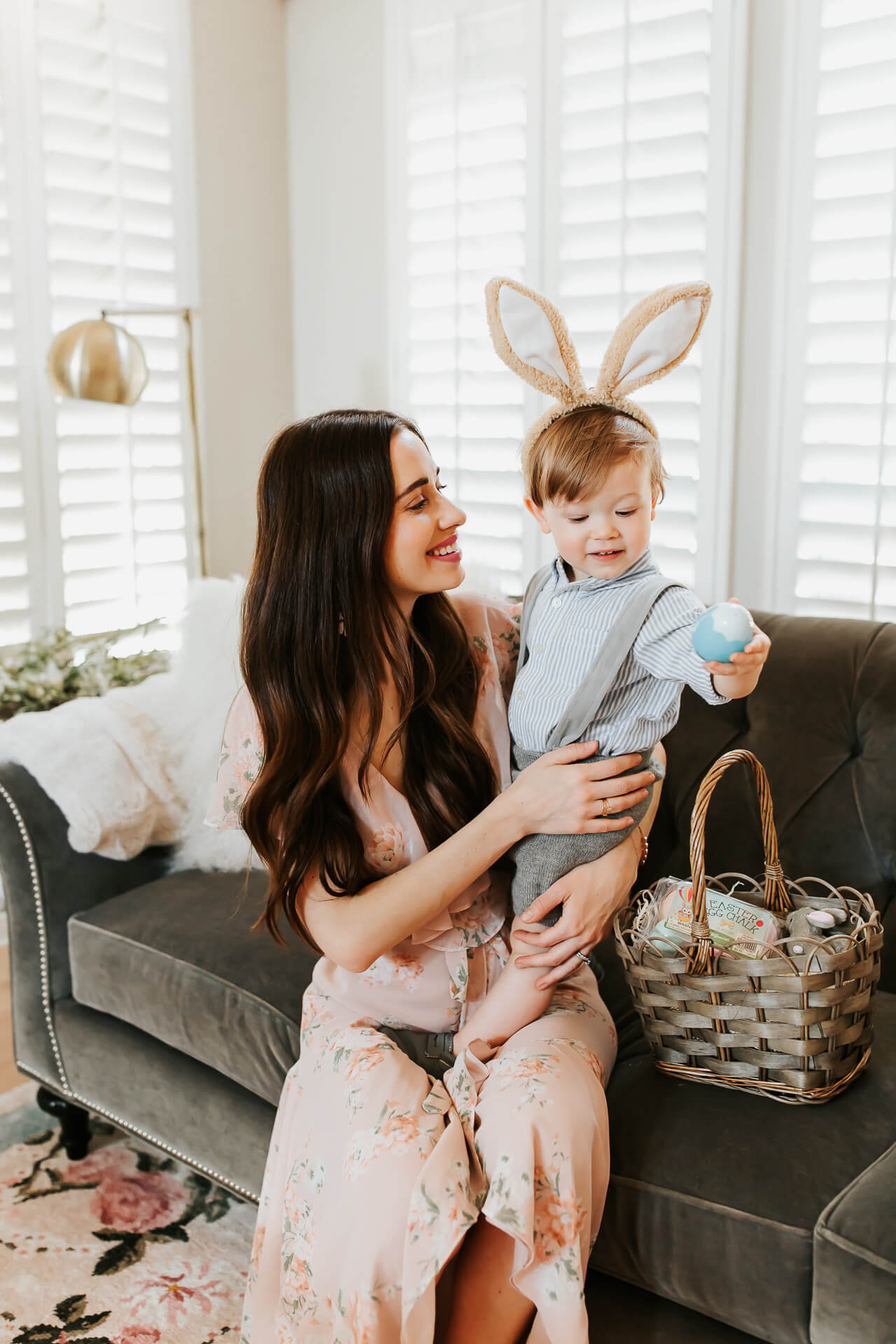 Mara and Augustine - Spring Decor post - Los Angeles and Orange County Mommy Blogger M Loves M @marmar