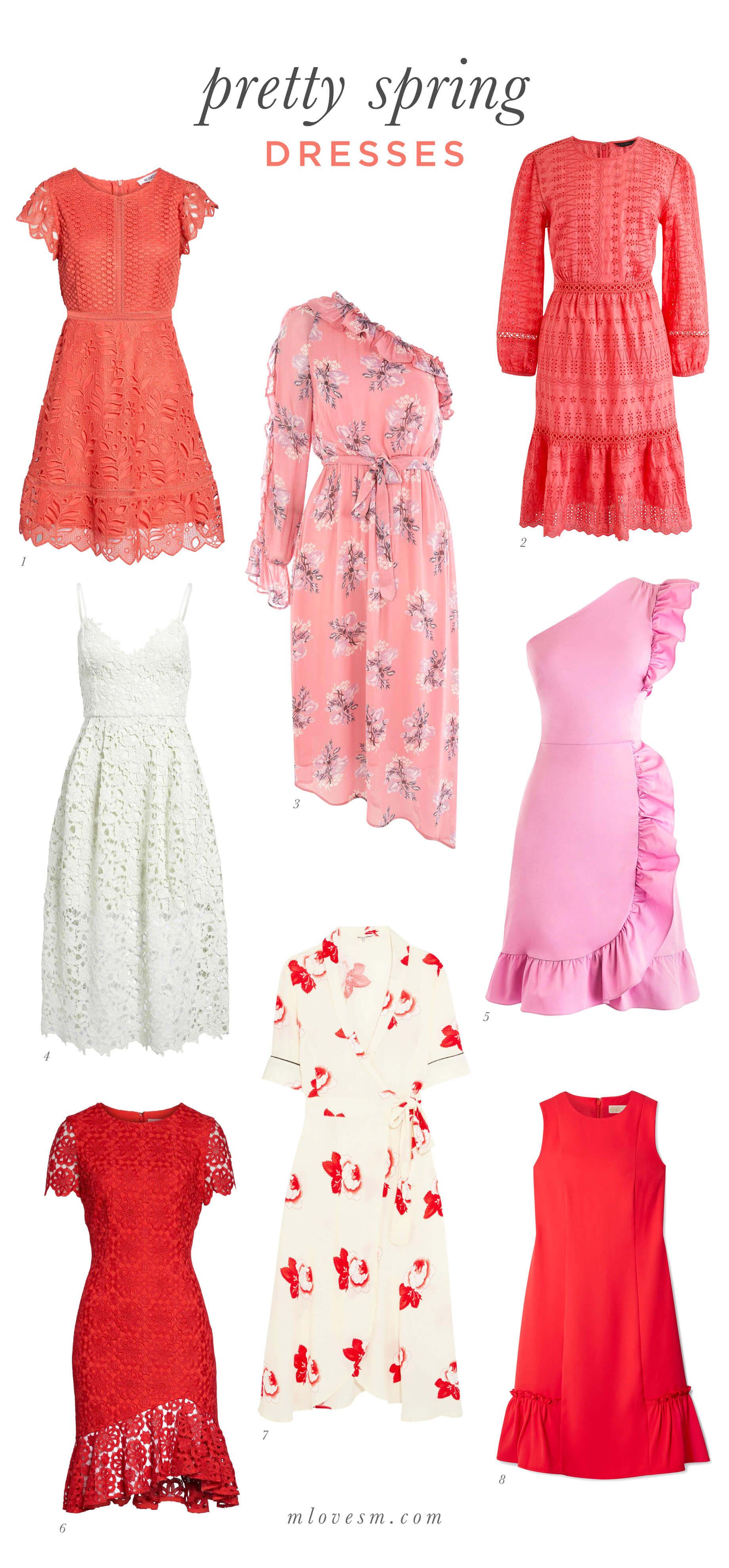 Pretty Spring Dresses - M Loves M @marmar