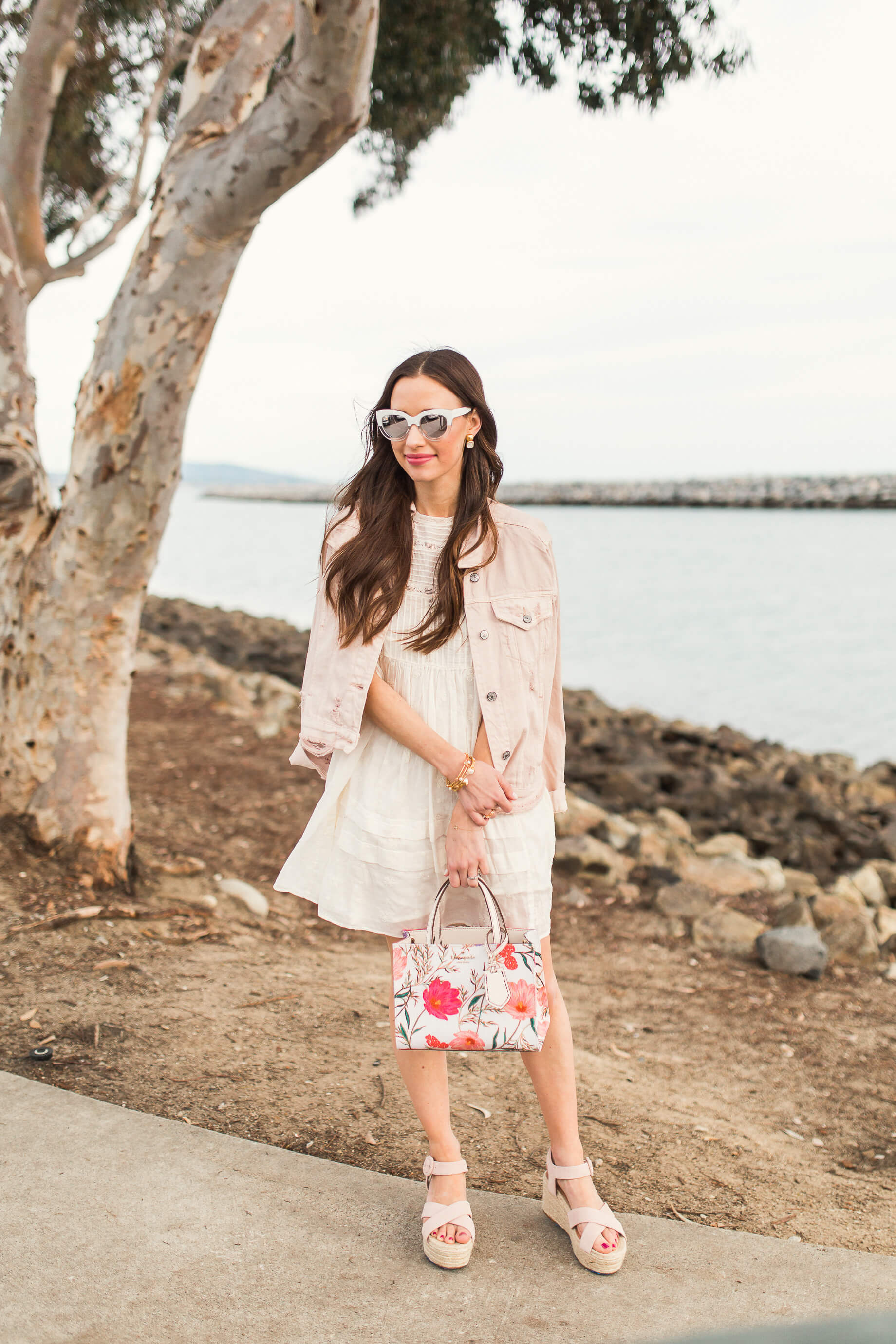 How I style a Babydoll Dress for Spring - M Loves M @marmar