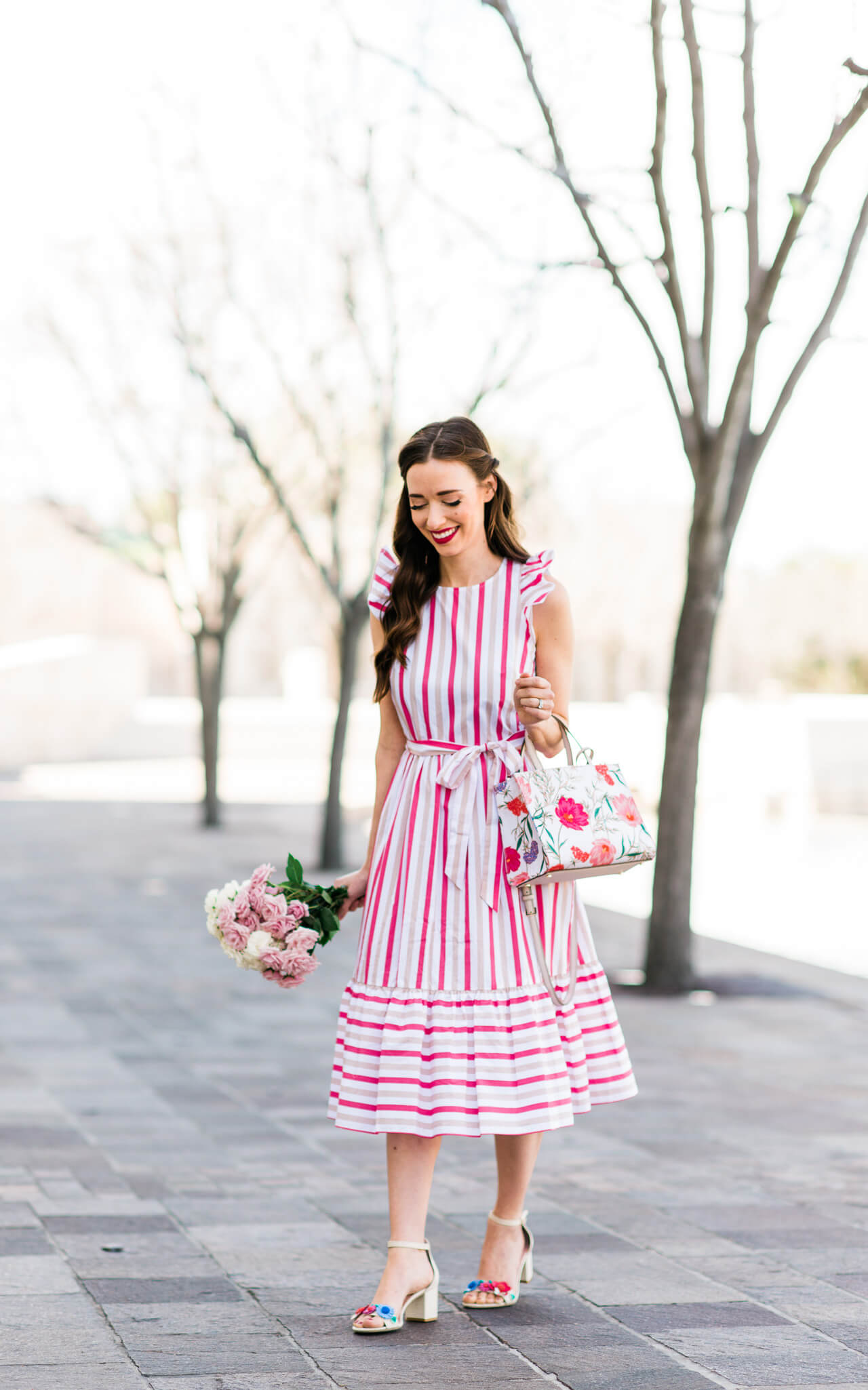 a feminine spring outfit that's worth the splurge