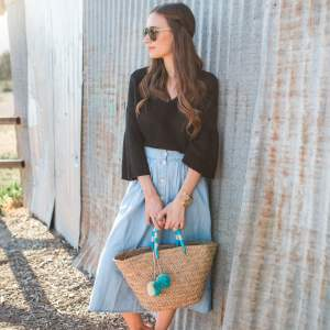 The Skirt That Goes with Almost Everything - M Loves M @marmar
