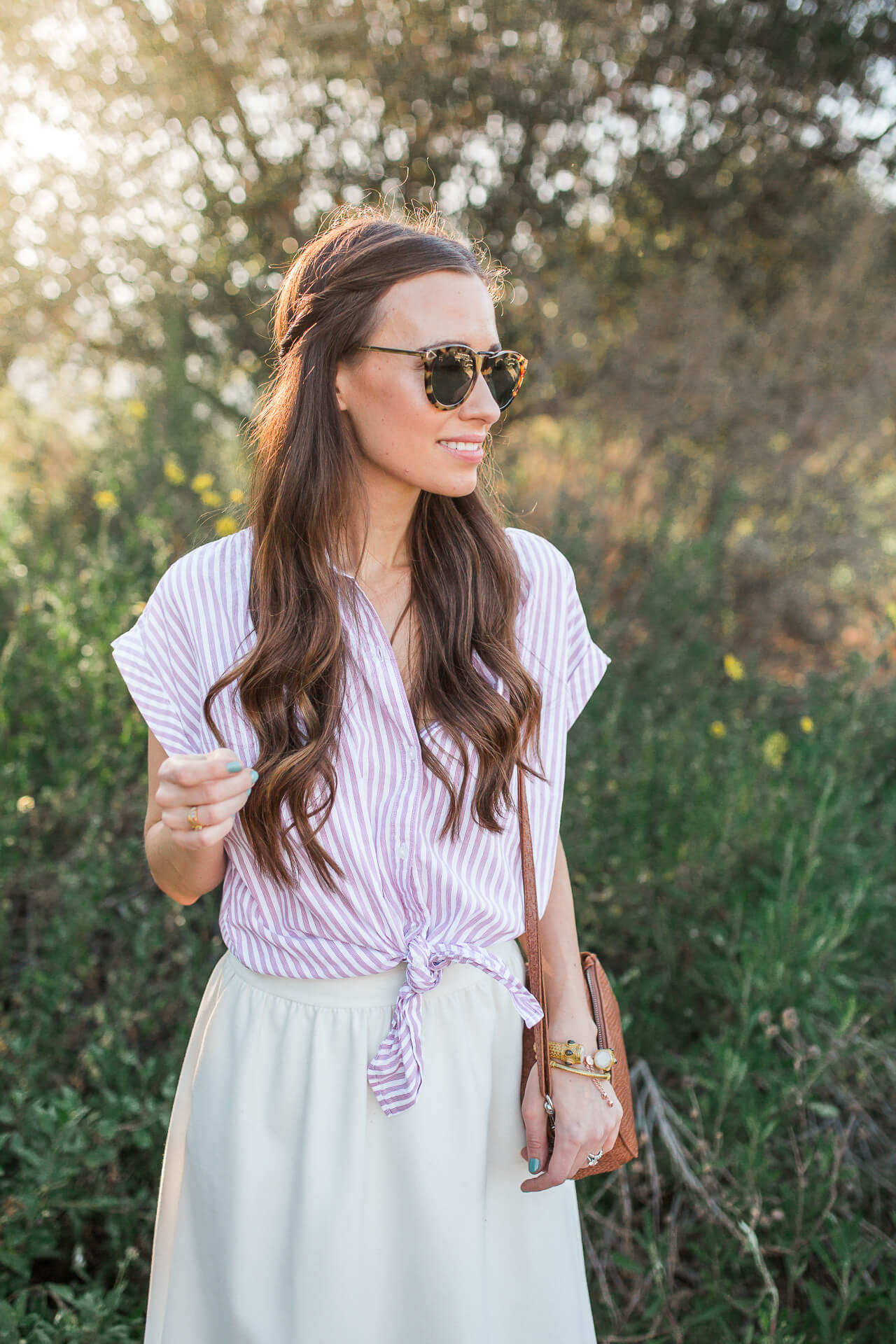 The perfect millennial pink outfit inspiration for spring! | M Loves M @marmar
