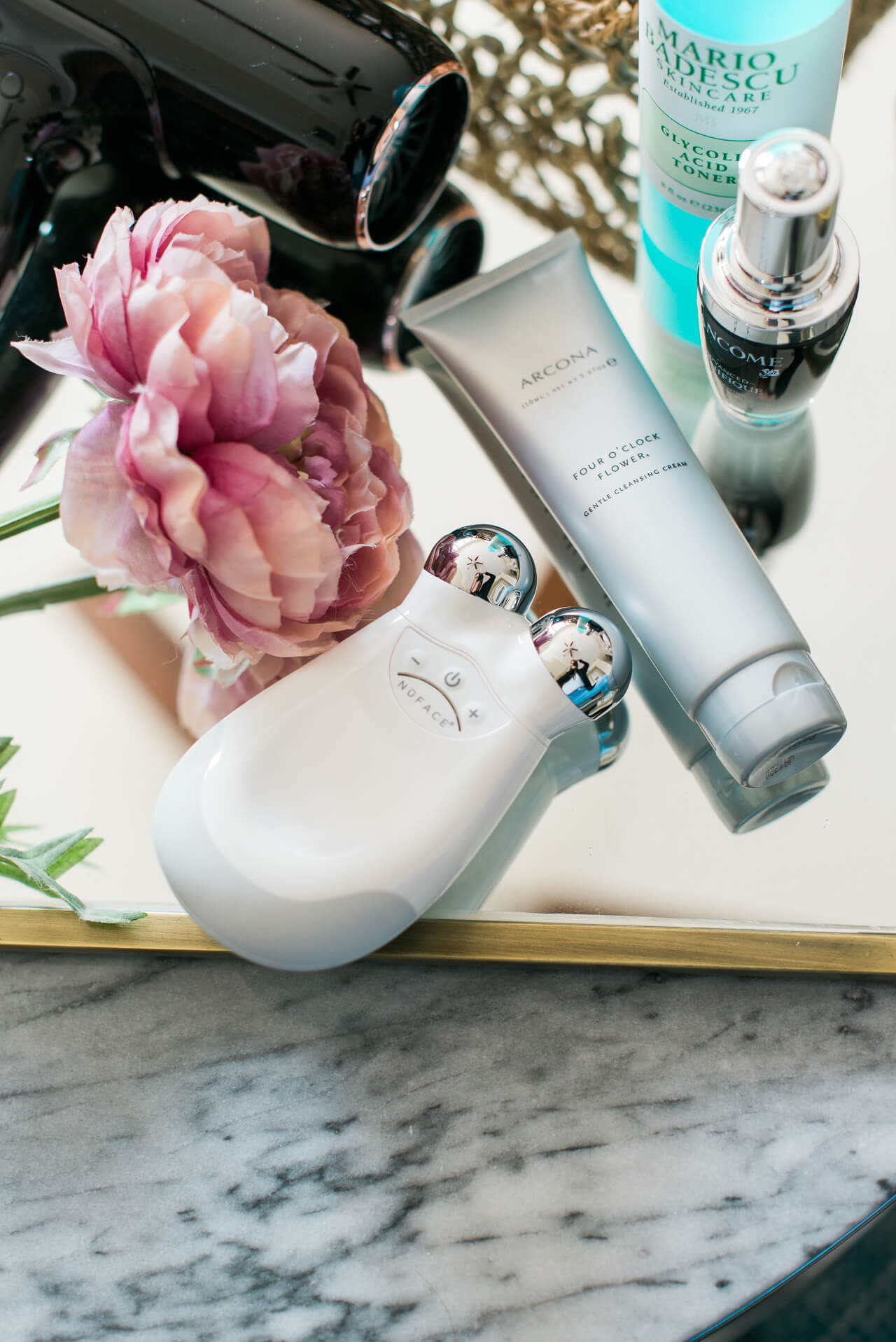 I can't wait to try this new NuFACE skincare device. Love introducing some tech into my routine! Check back for my routine. | M Loves M @marmar