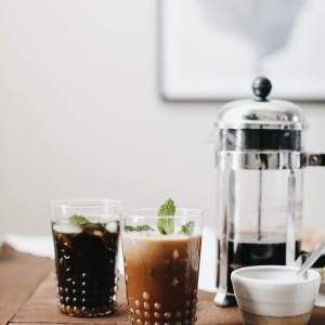 You have to try this mint mojito inspired iced coffee recipe this summer! | This Philz Inspired Mint Coffee is the best copycat I've created - M Loves M @marmar