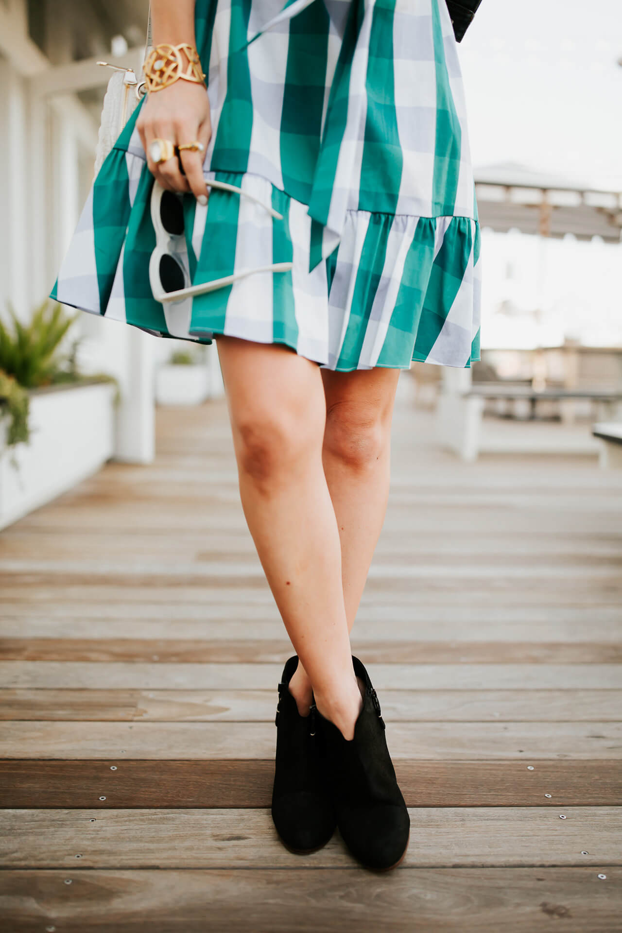I can't wait to wear this gingham dress to all my summer events!   M Loves M @marmar