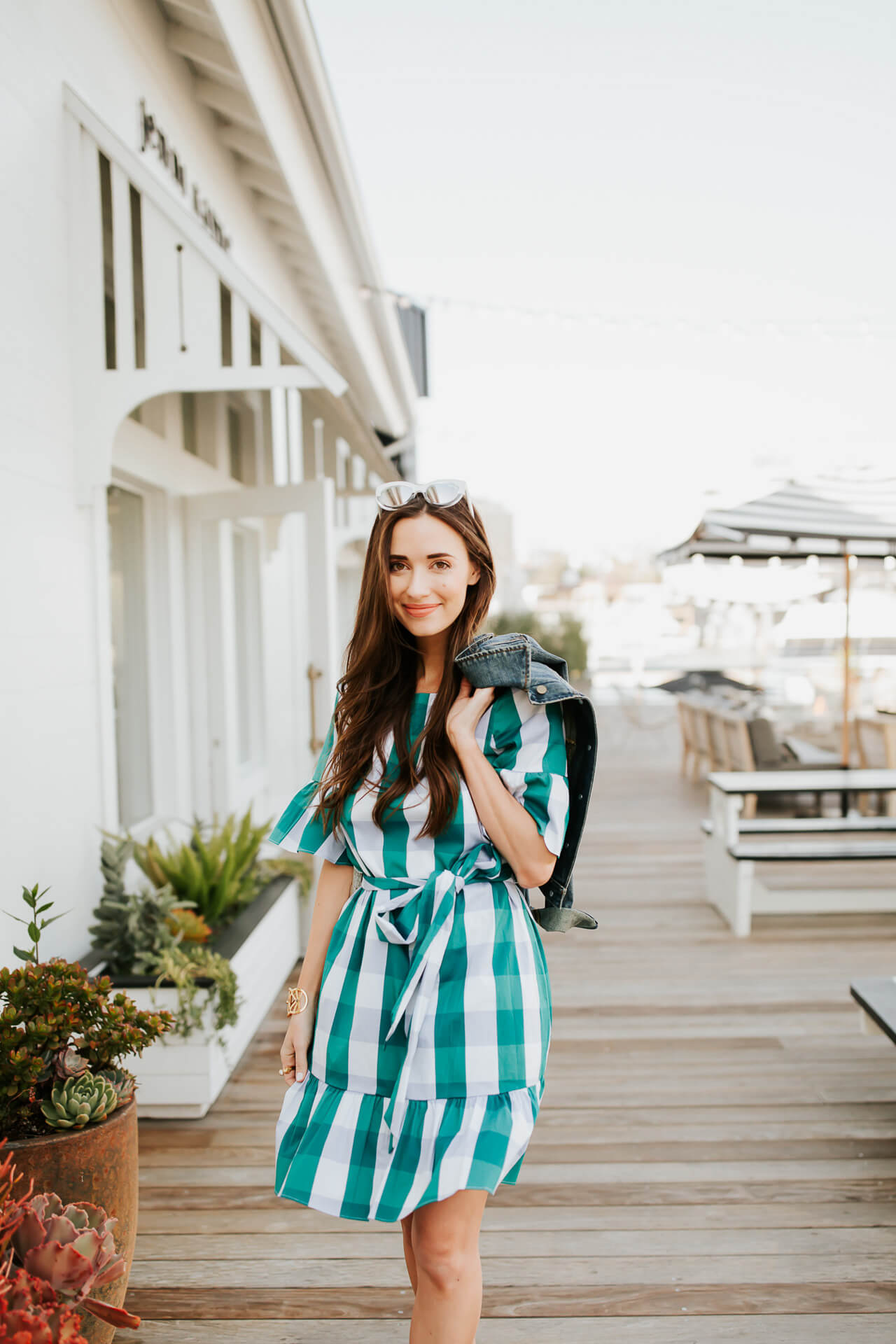 Be the belle of the backyard garden party this year in a thoroughly charming dress that lets the ruffles and bows fully flow. | M Loves M @marmar